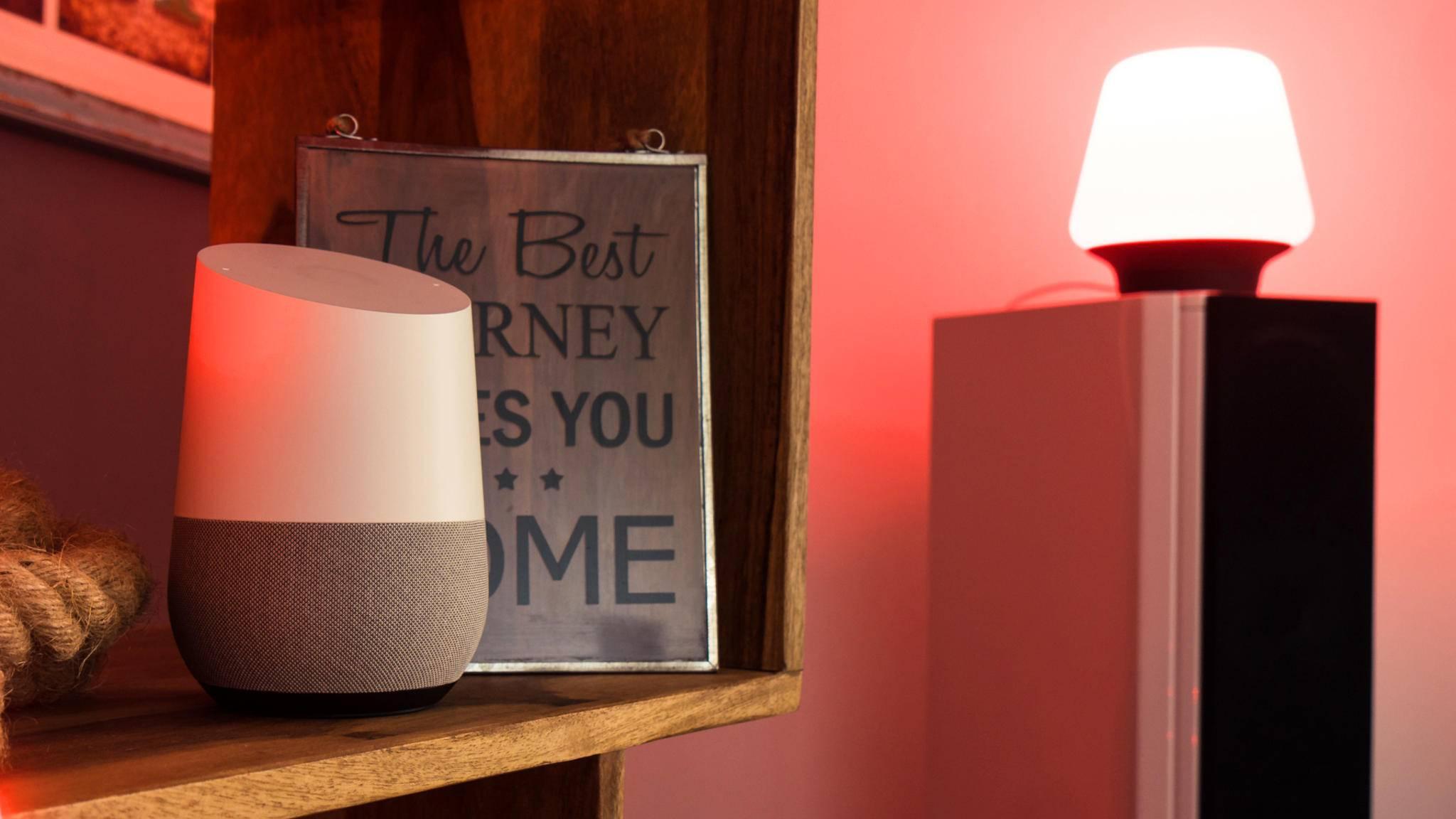 Der Google Assistant auf Google Home soll eine natürlichere Stimme bekommen.