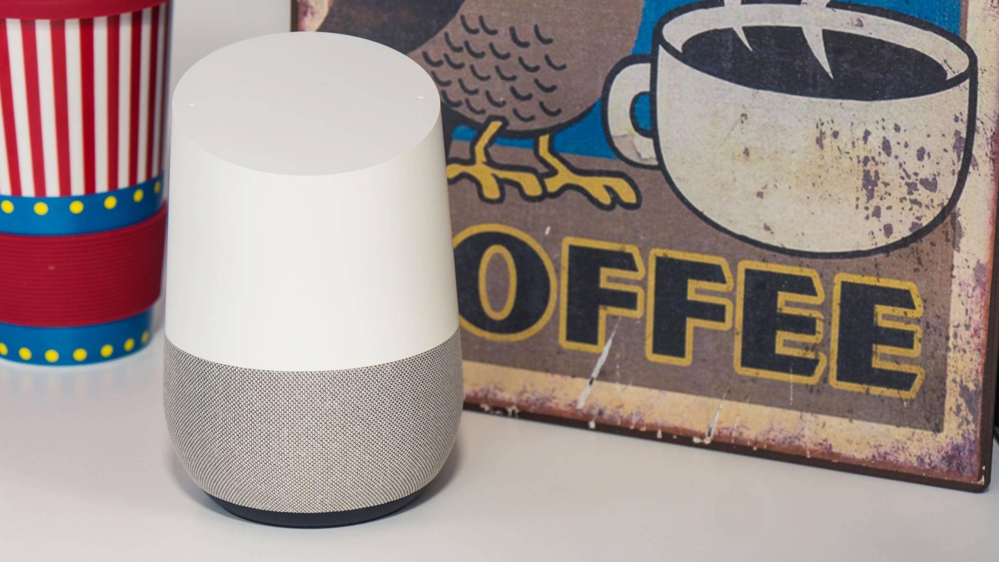 Google Home kann bald auch die Lautstärke anderer Geräte kontrollieren.