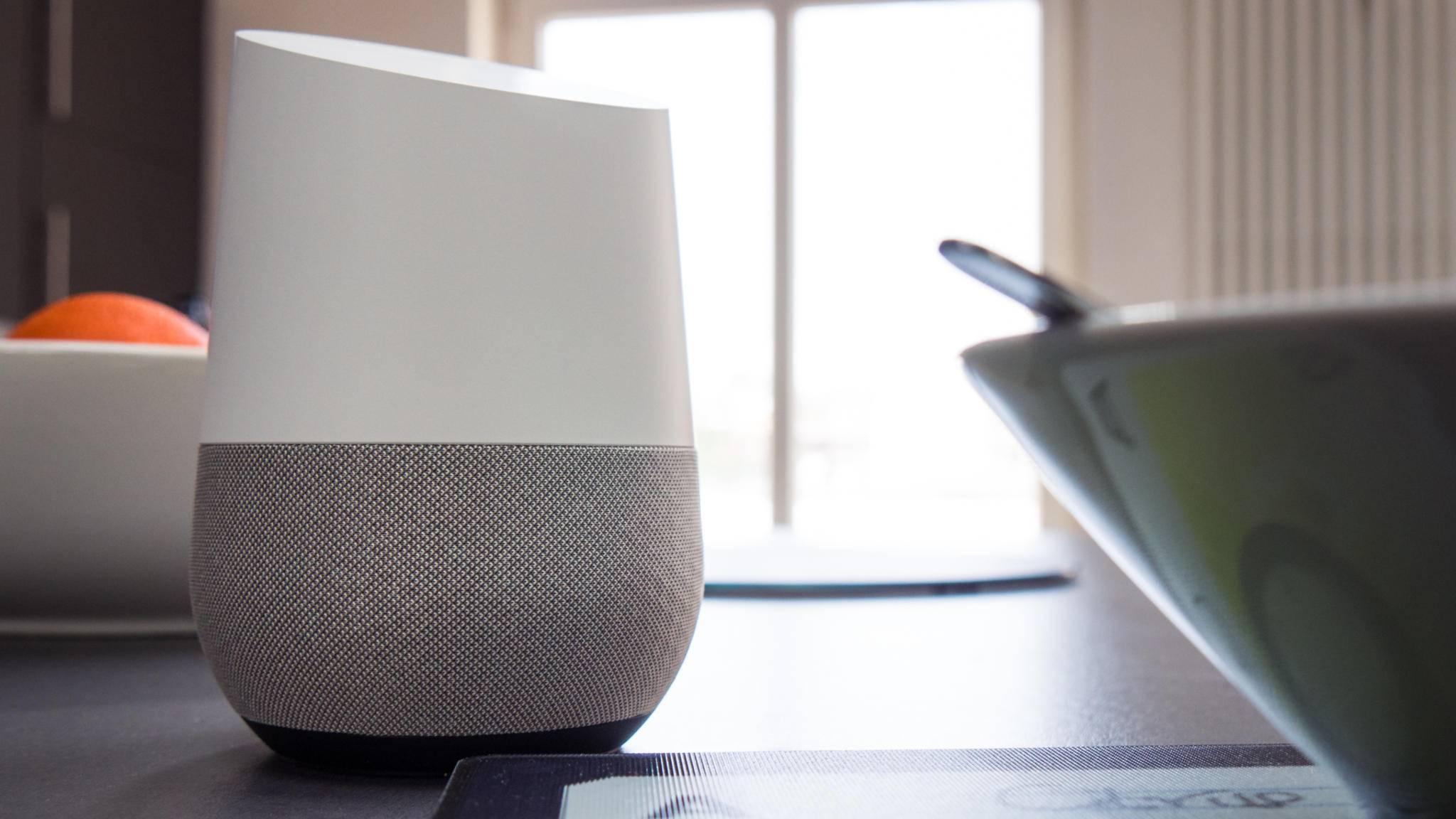 Angeblich plant Google noch eine kleinere Version von Google Home.