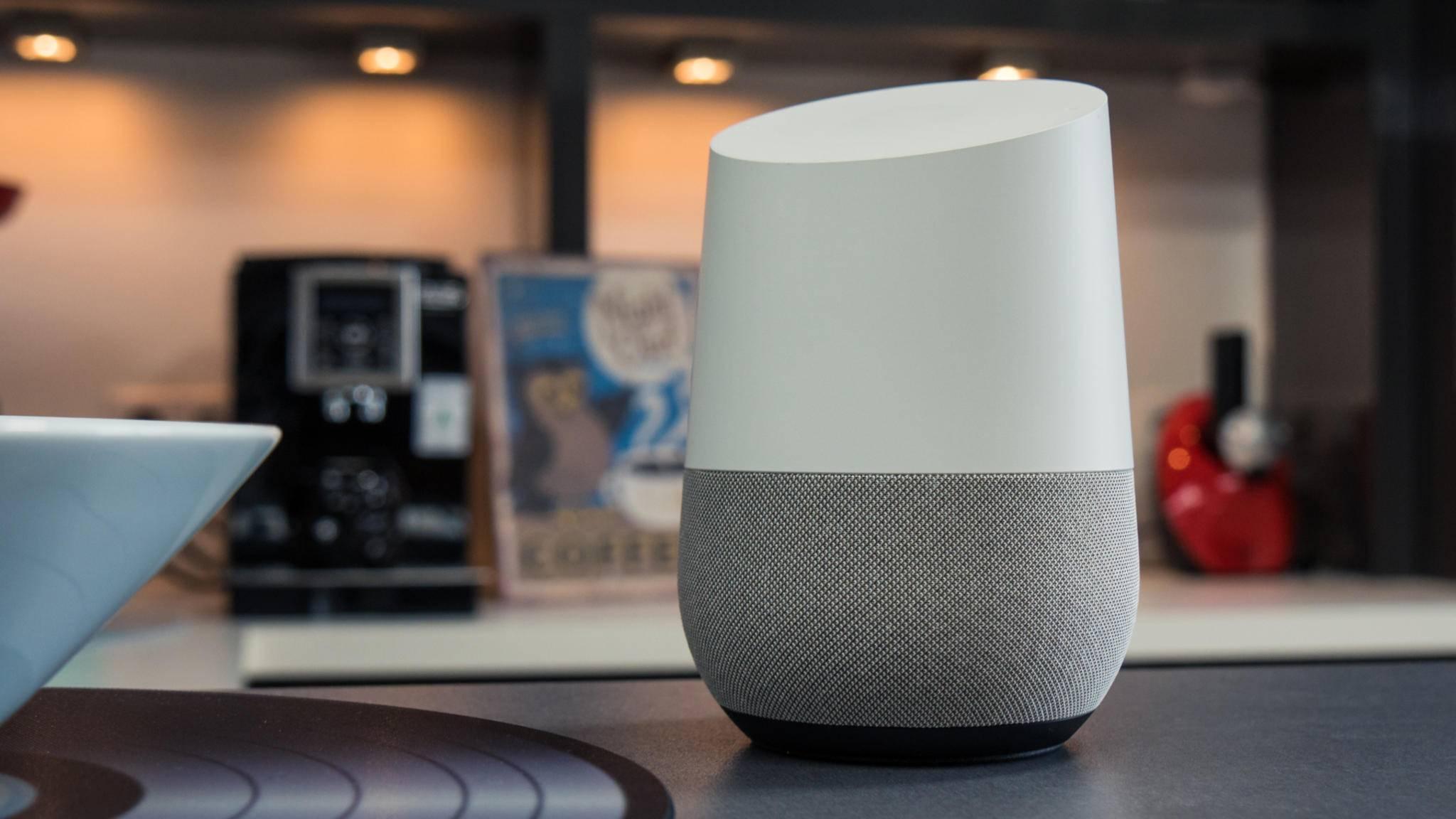 Derzeit wohl die beste Alternative zu Amazon Echo: der Google Home.