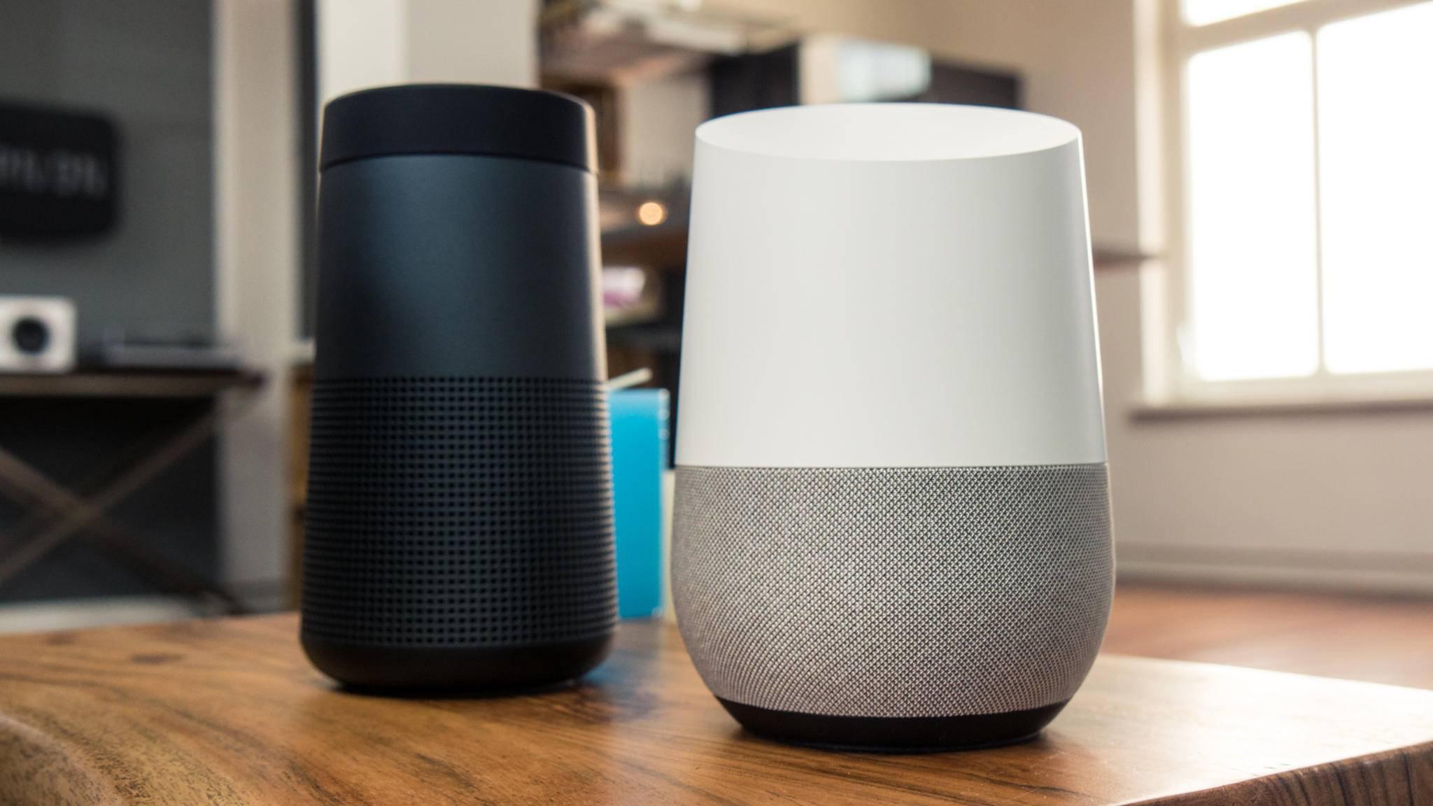 Smarte Lautsprecher könnten sich schneller als Smartphones verbreiten.