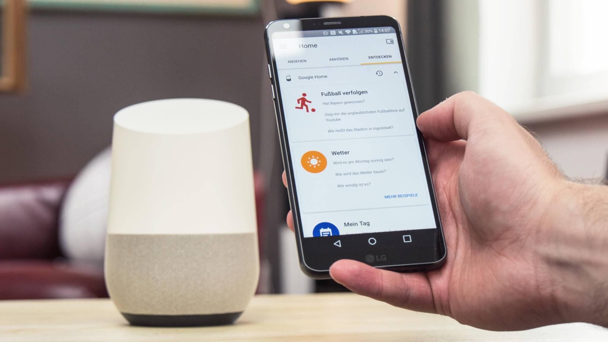 Google spendiert der Google-Home-App ein großes Update.