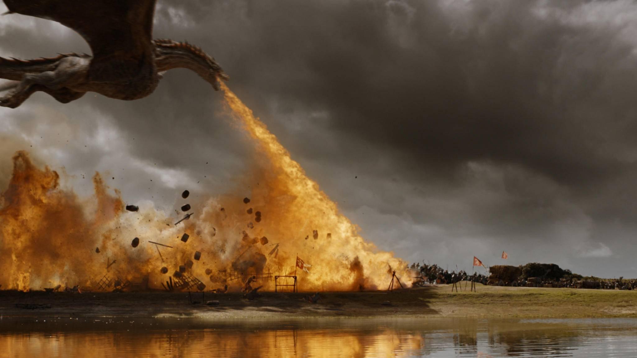 """Bei """"Game of Thrones"""" wurden in dieser Woche nicht nur Armeen gegrillt."""