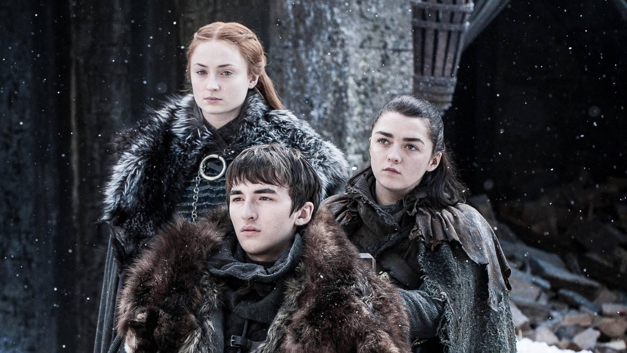 """Welches Ende erwartet wohl die Stark-Kinder in Staffel 8 von """"Game of Thrones""""?"""