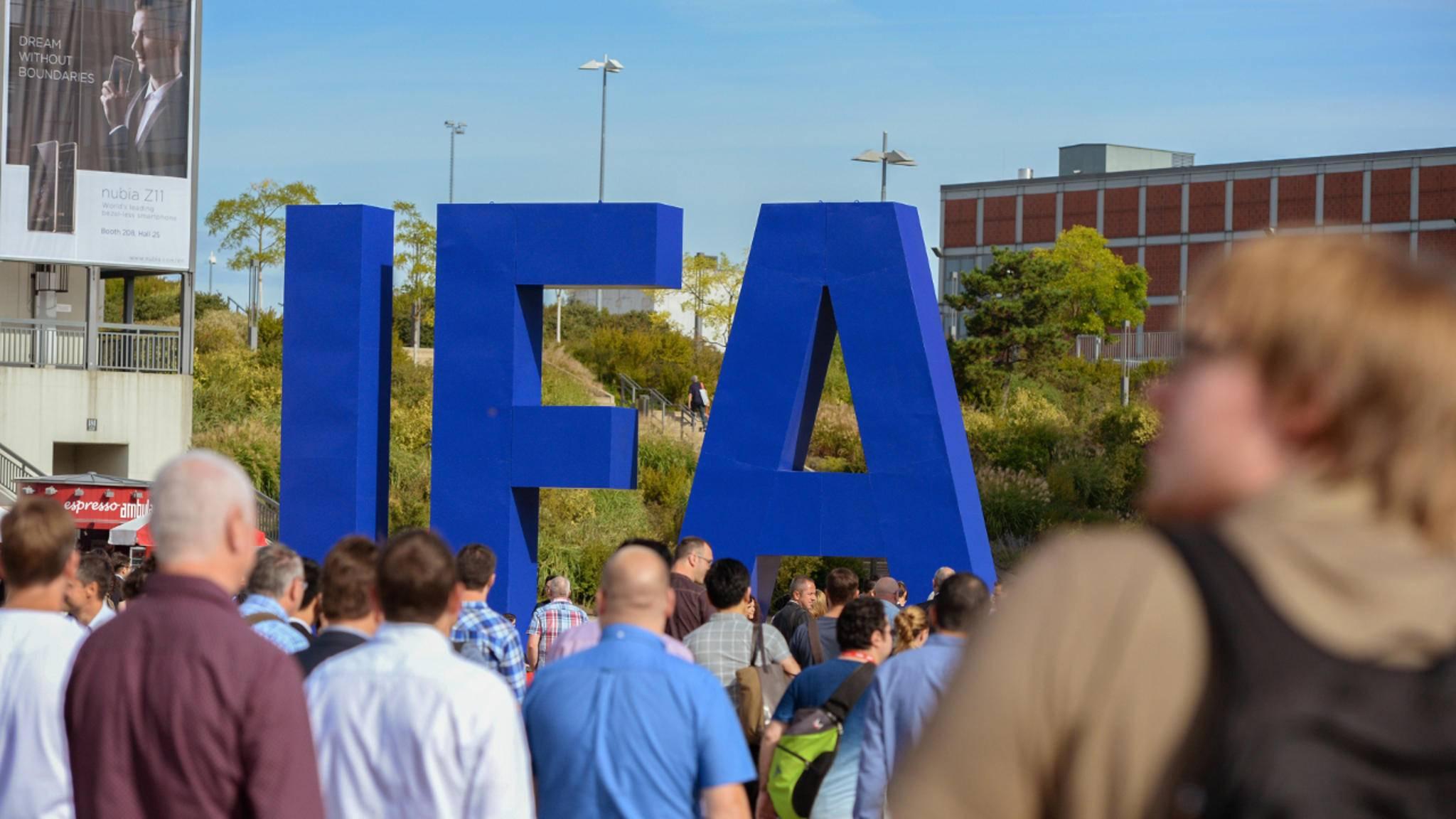 Die IFA 2018 startet am 31. August für Besucher.