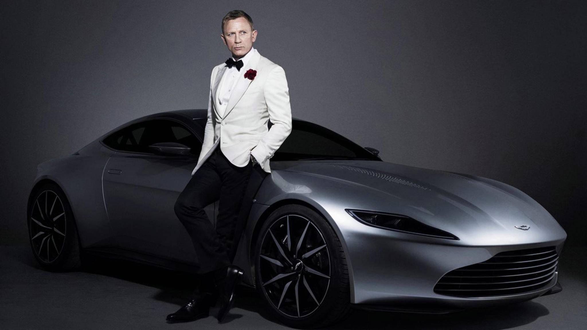 James Bond hat bekanntlich ein Faible für schnelle Autos.