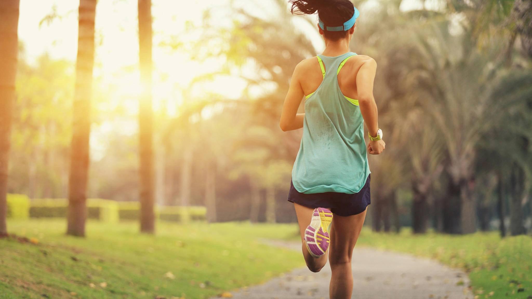 Beim Joggen können Lauf-Gadgets hilfreich sein.