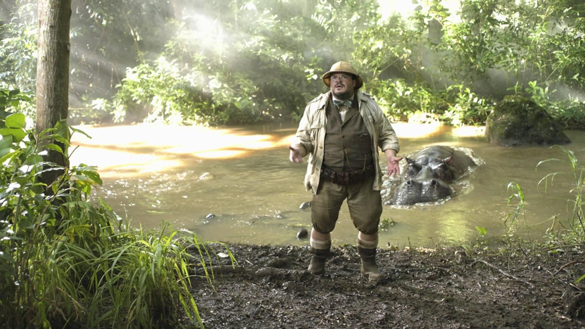 """Jack Black stand bereits in """"Jumanji: Willkommen im Dschungel"""" mit Kevin Hart vor der Kamera – in """"Borderlands"""" feiern sie ihre Reunion."""