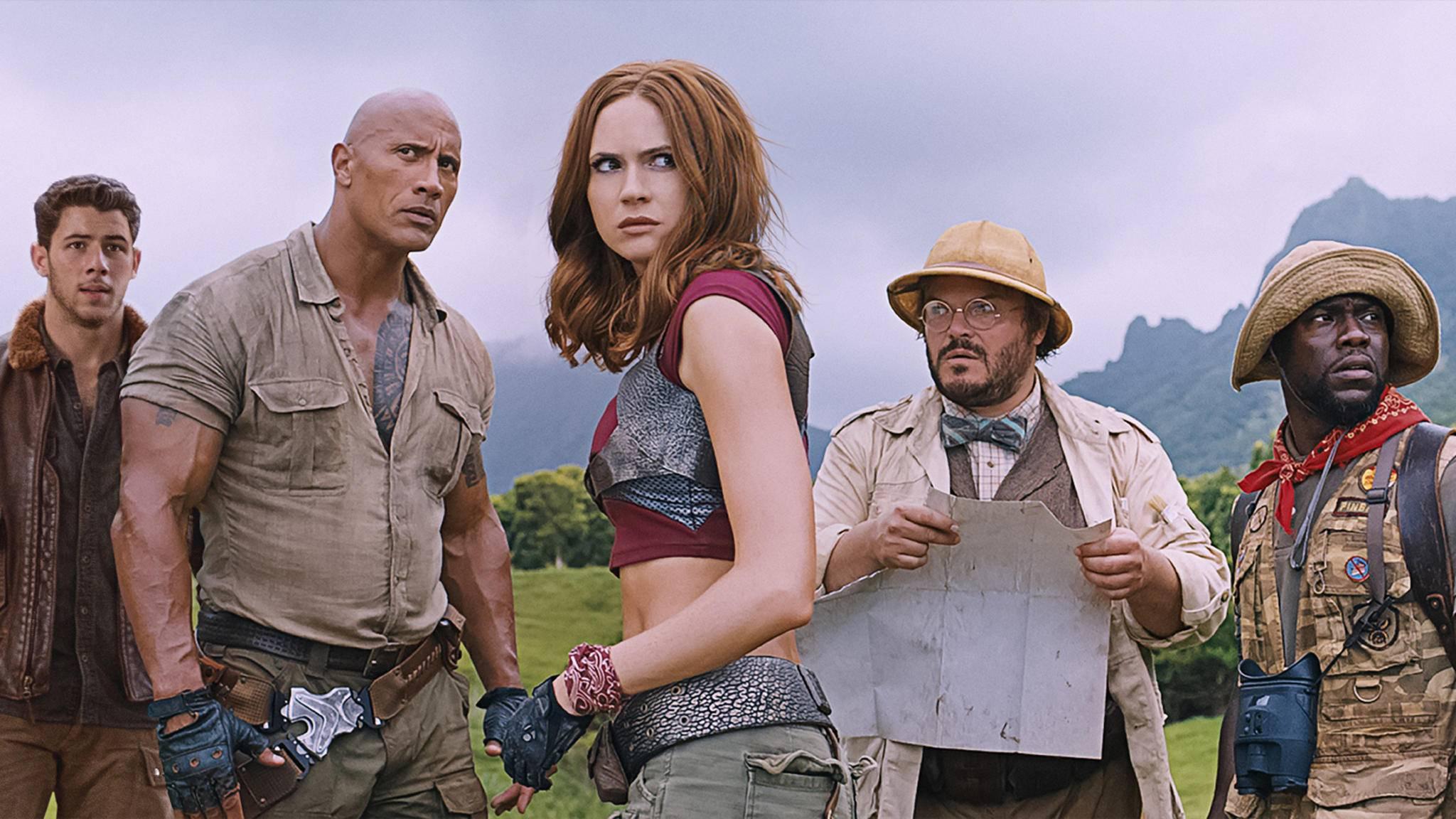 """Was raschelt da? Ein Sequel für """"Jumanji: Willkommen im Dschungel"""" schleicht sich heran."""