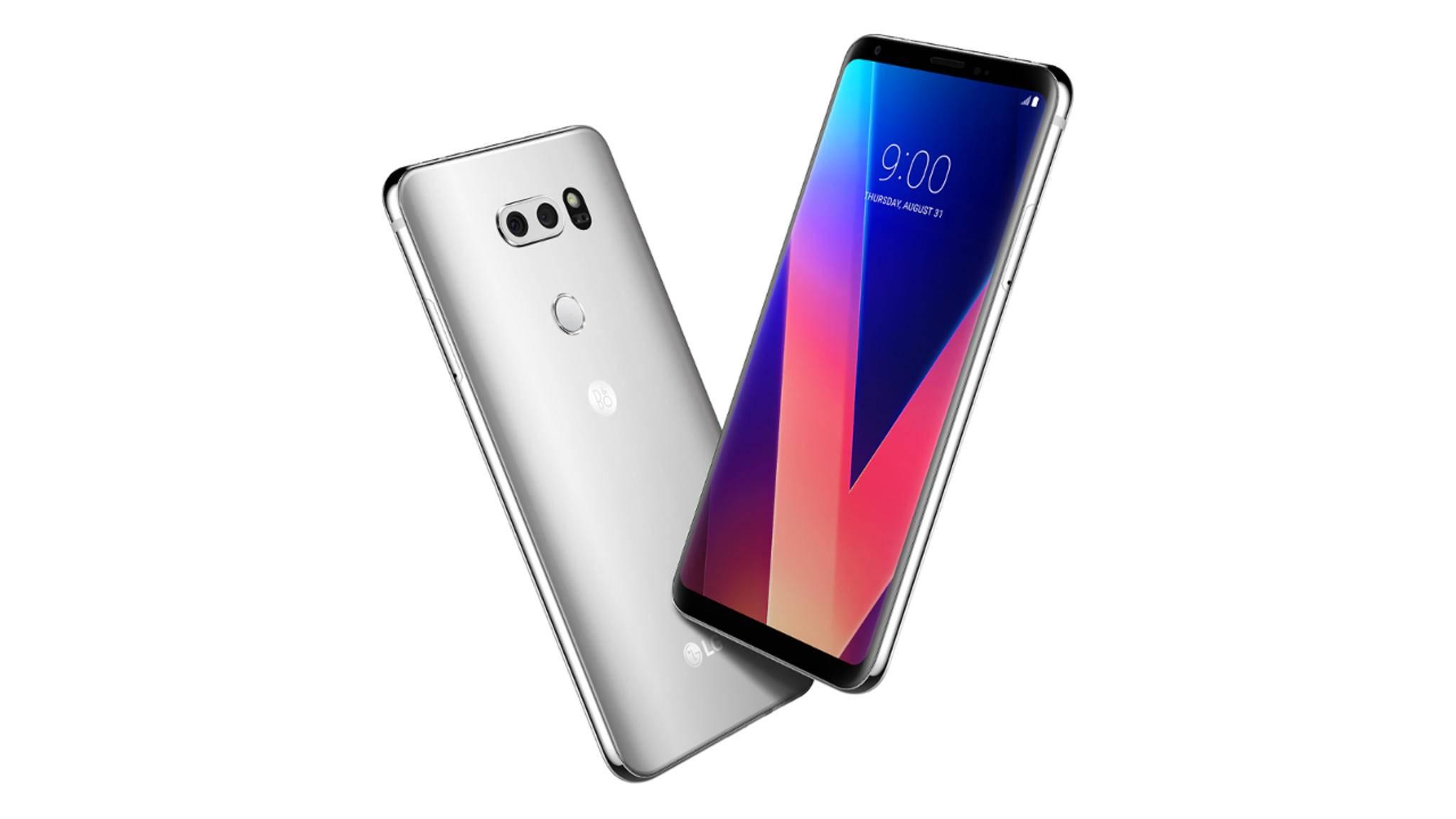 Das LG V30 wurde im Rahmen der IFA 2017 vorgestellt.