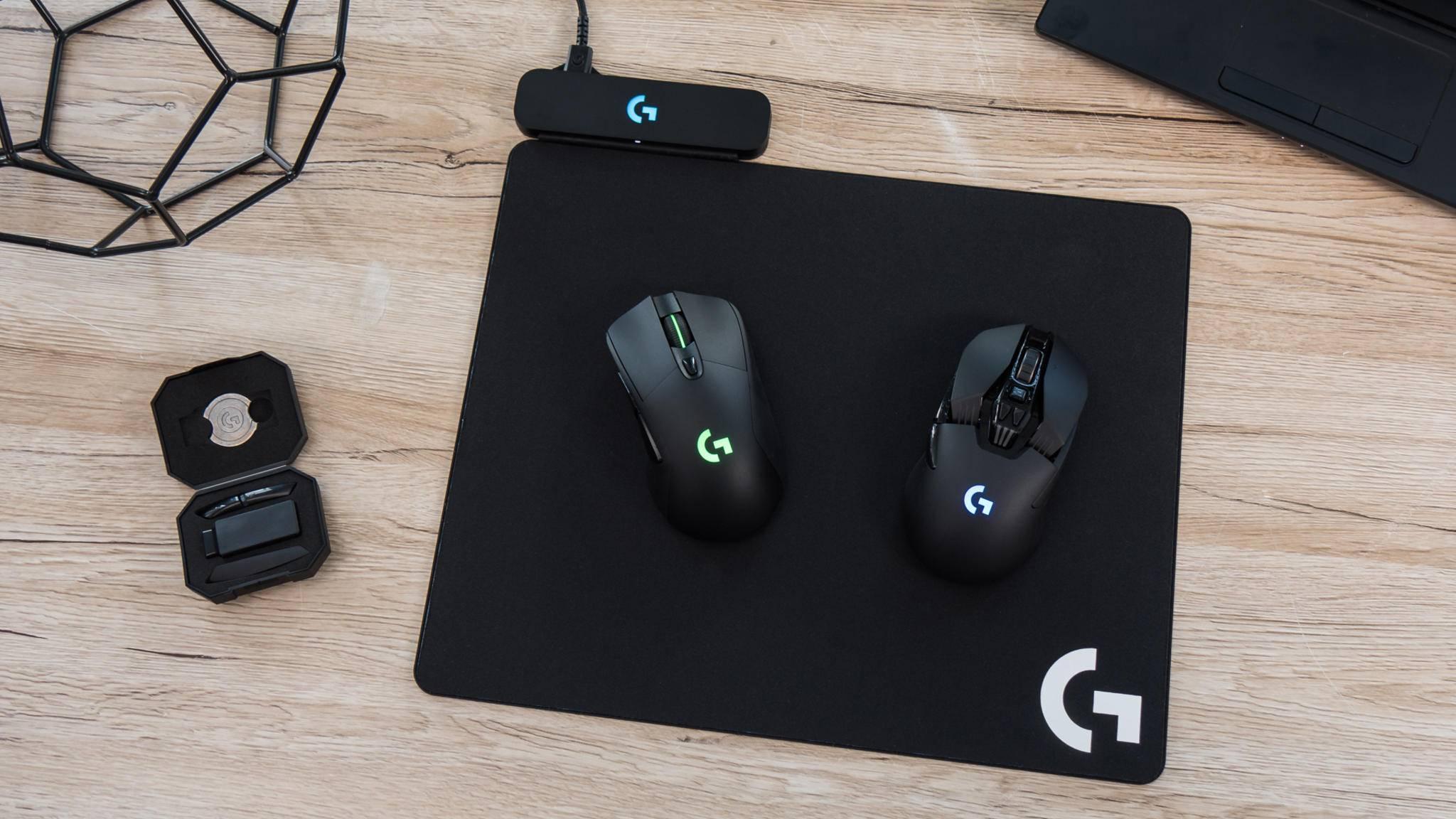 Die Logitech G703 und G903 sind die ersten PowerPlay-kompatiblen Mäuse mit Wireless Charging.