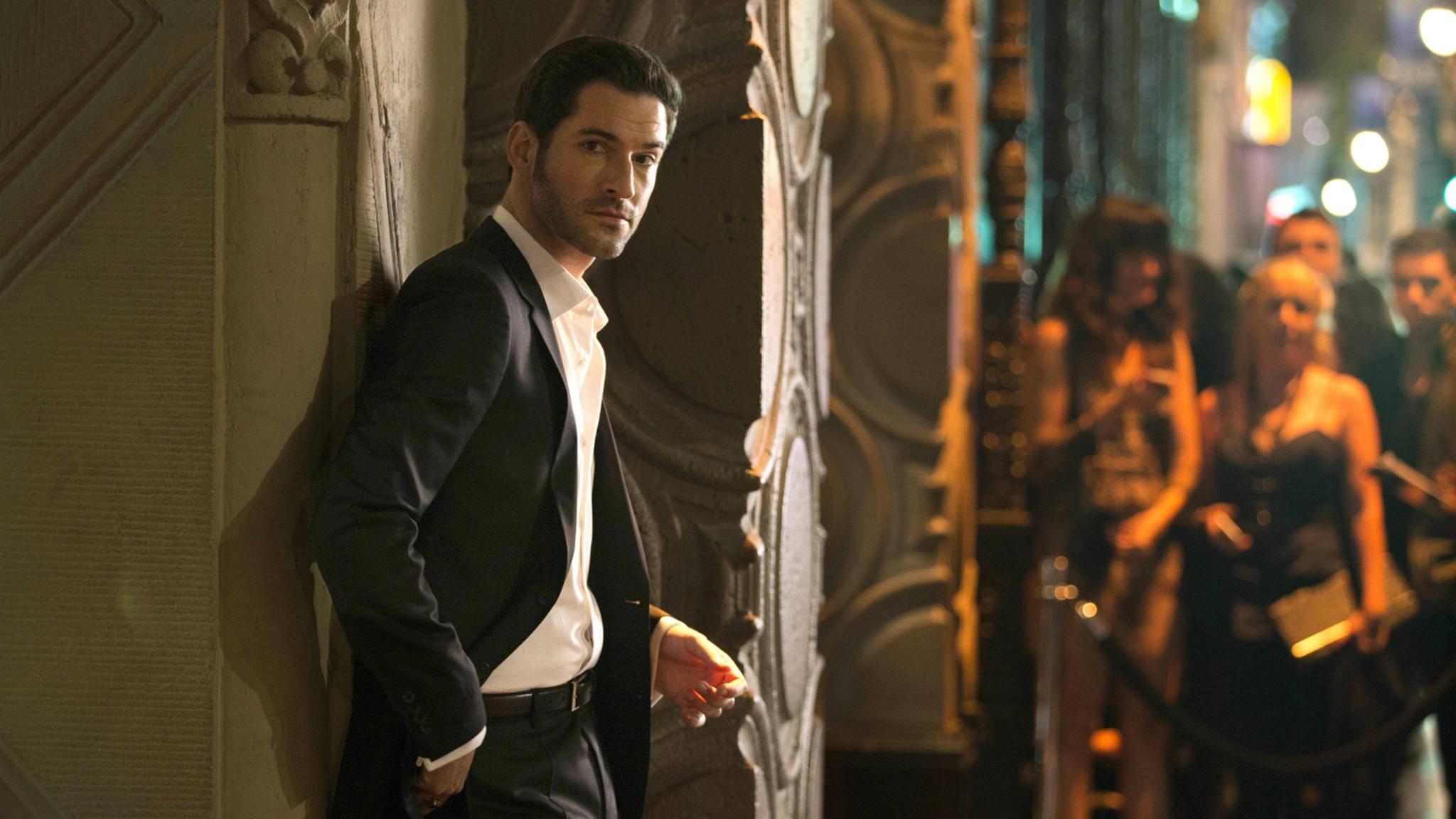 Lucifer (Tom Ellis) bekommt in Staffel 3 neue Konkurrenz im Kampf um Chloes Herz.
