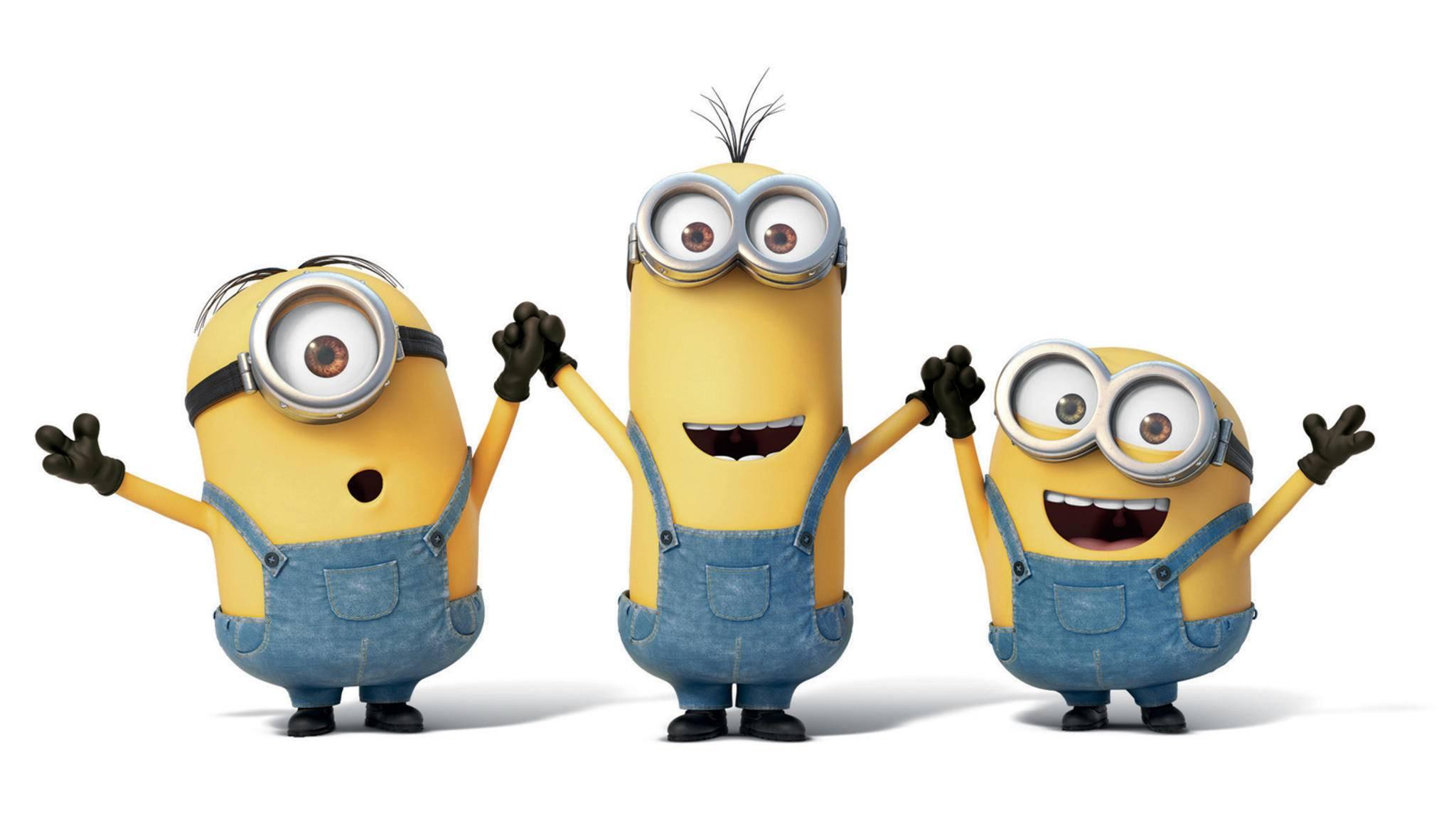 """Grund zur Freude: Die Minions sind mit der """"Ich – Einfach unverbesserlich""""-Reihe erfolgreich wie nie."""
