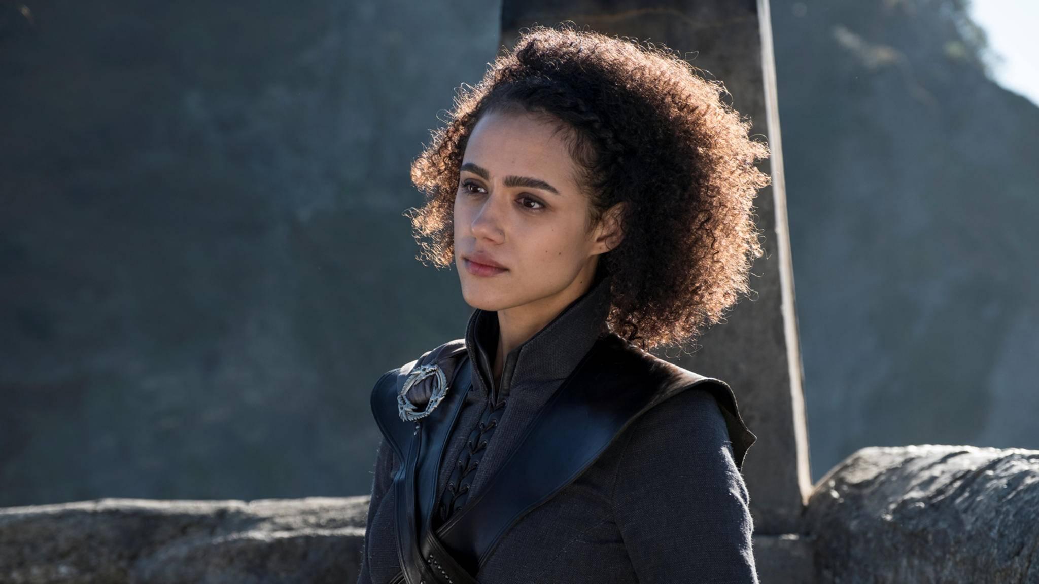 """Missandei-Darstellerin Nathalie Emmanuel deutet ein nicht allzu freudiges """"Game of Thrones""""-Finale an."""