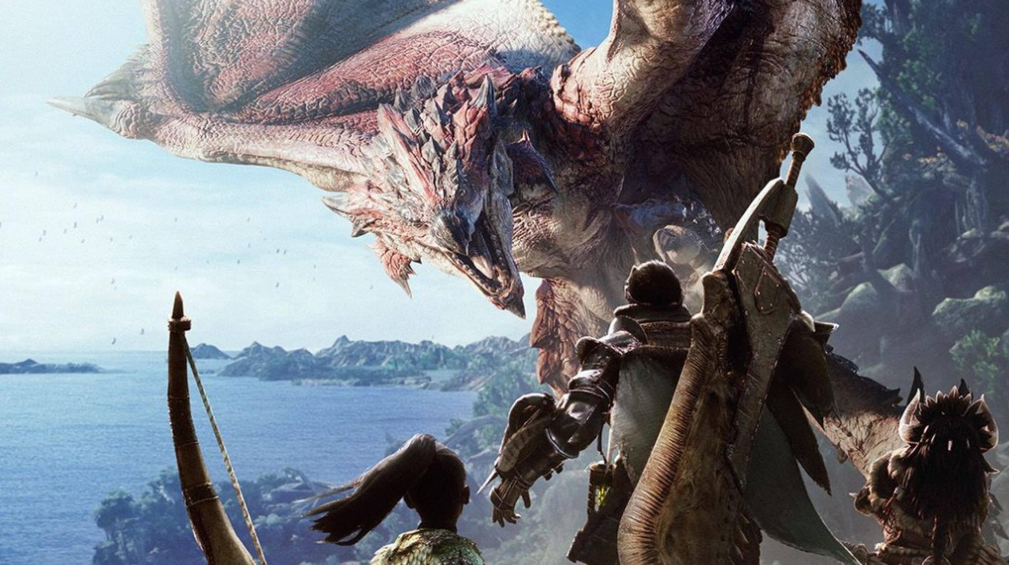 """In """"Monster Hunter: World"""" bezwingst Du riesige Bestien."""