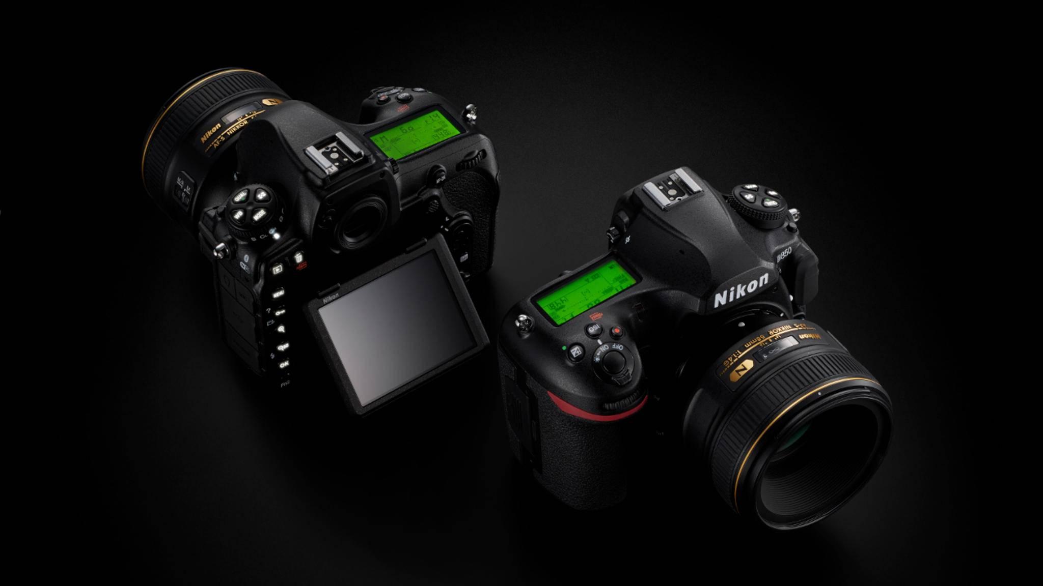 Die neue Profi-DSLR Nikon D850 löst mit 45,7 Megapixeln auf.