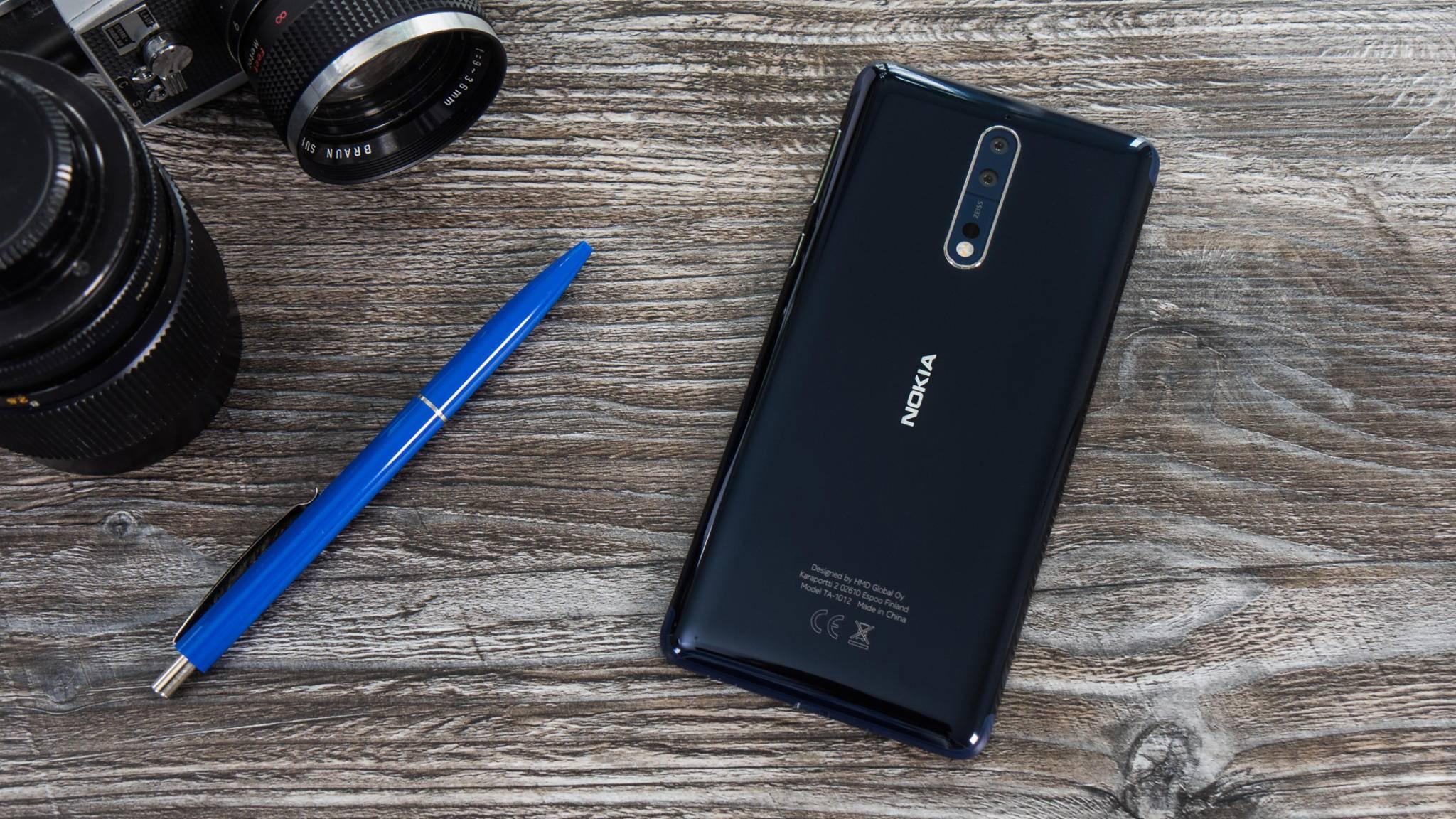 Das Nokia 8 soll die Finnen zurück an die Weltspitze führen.