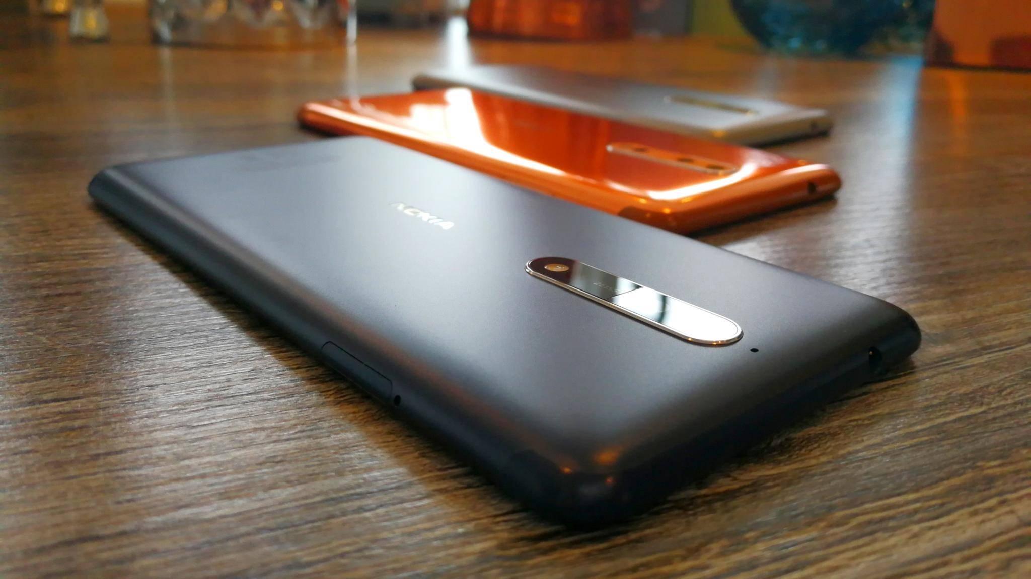 Mit dem Nokia 8 nimmt HMD Global auch Apple und Samsung ins Visier.