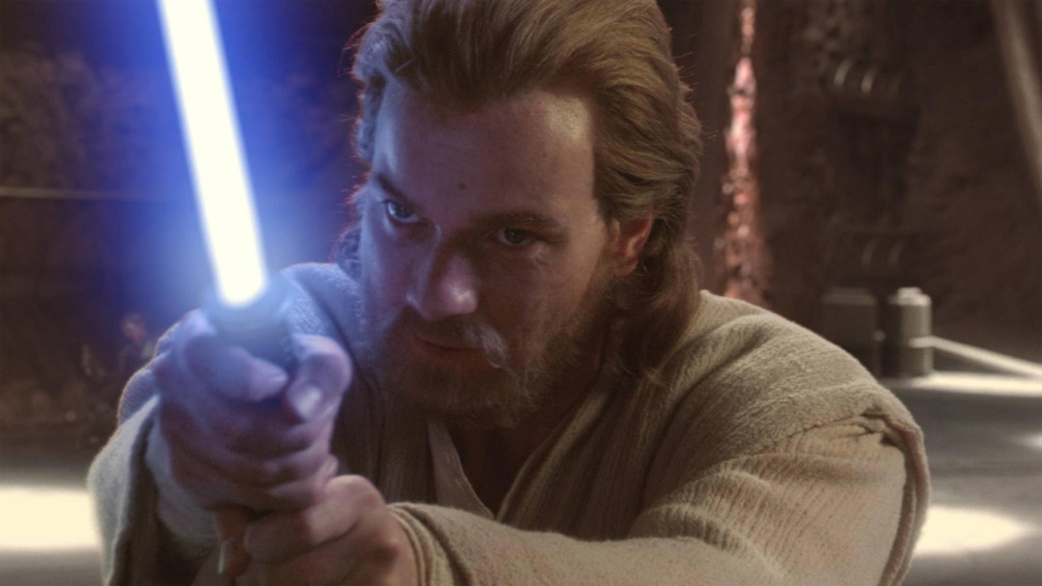 Bald streiten sich Obi Wan Kenobi und Jar Jar Binks darüber, wer den schöneren Bart hat.