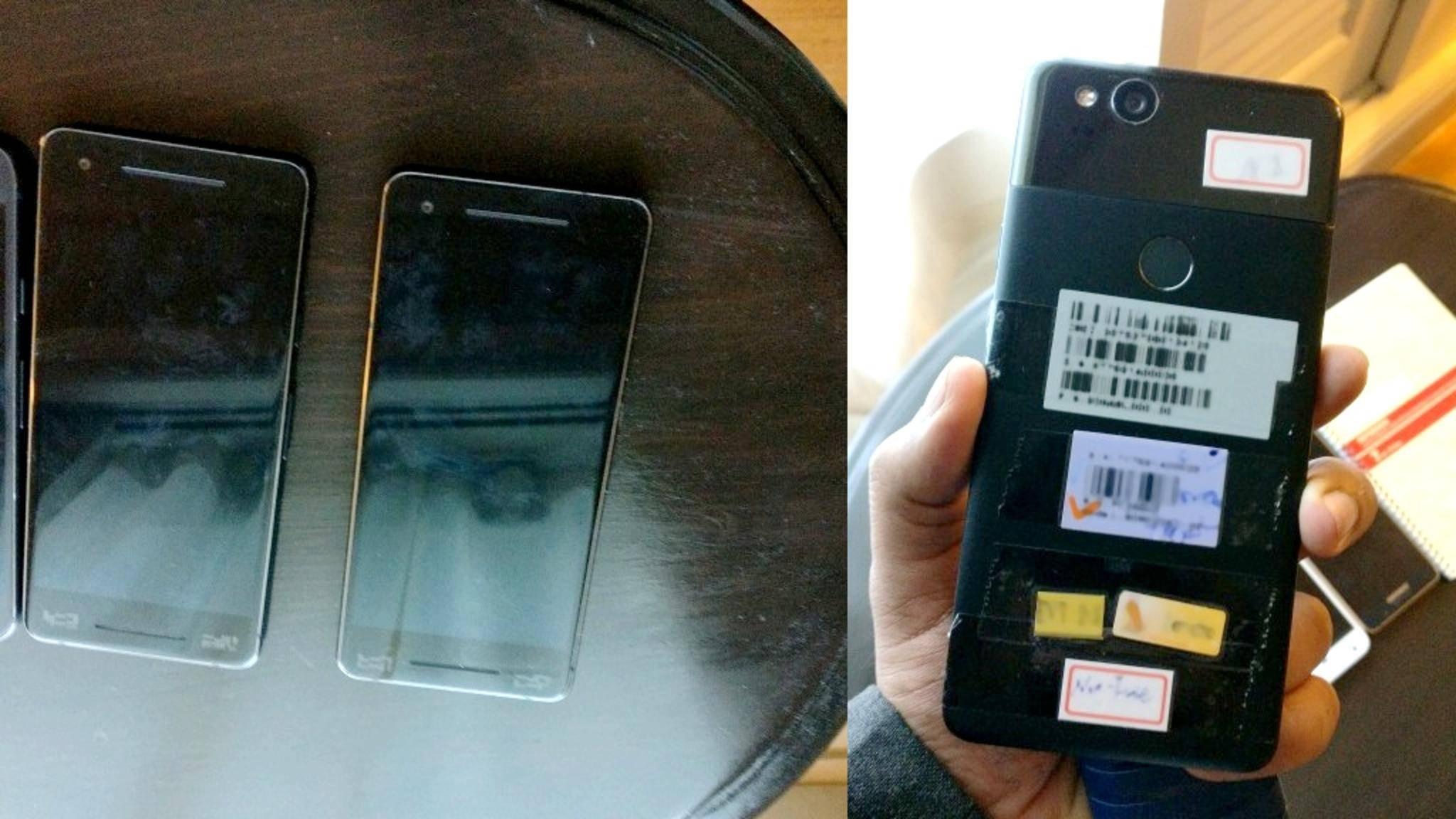 Diese Fotos zeigen angeblich das Google Pixel 2.