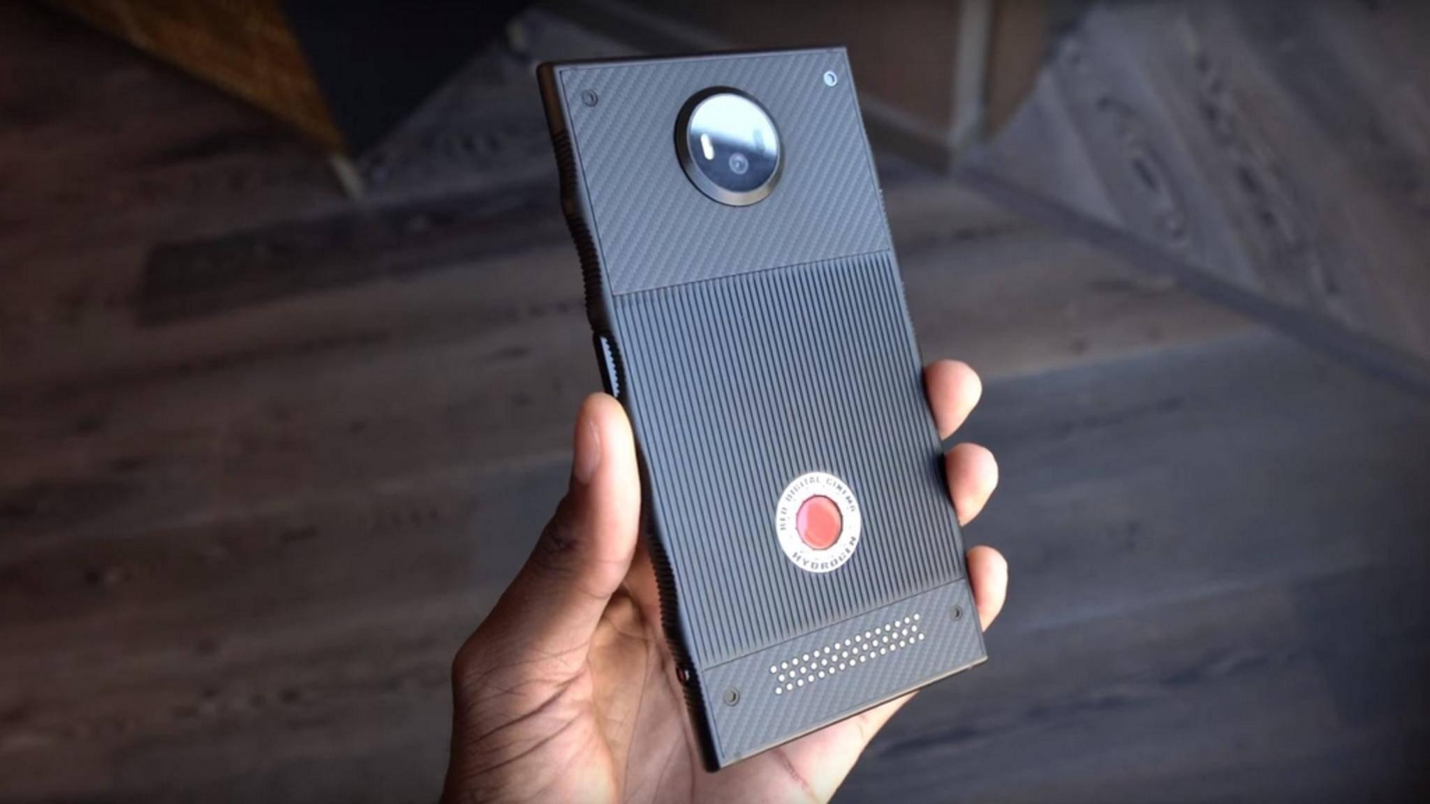 Das Hydrogen One von RED soll mit einem innovativen Hologramm-Display aufwarten.