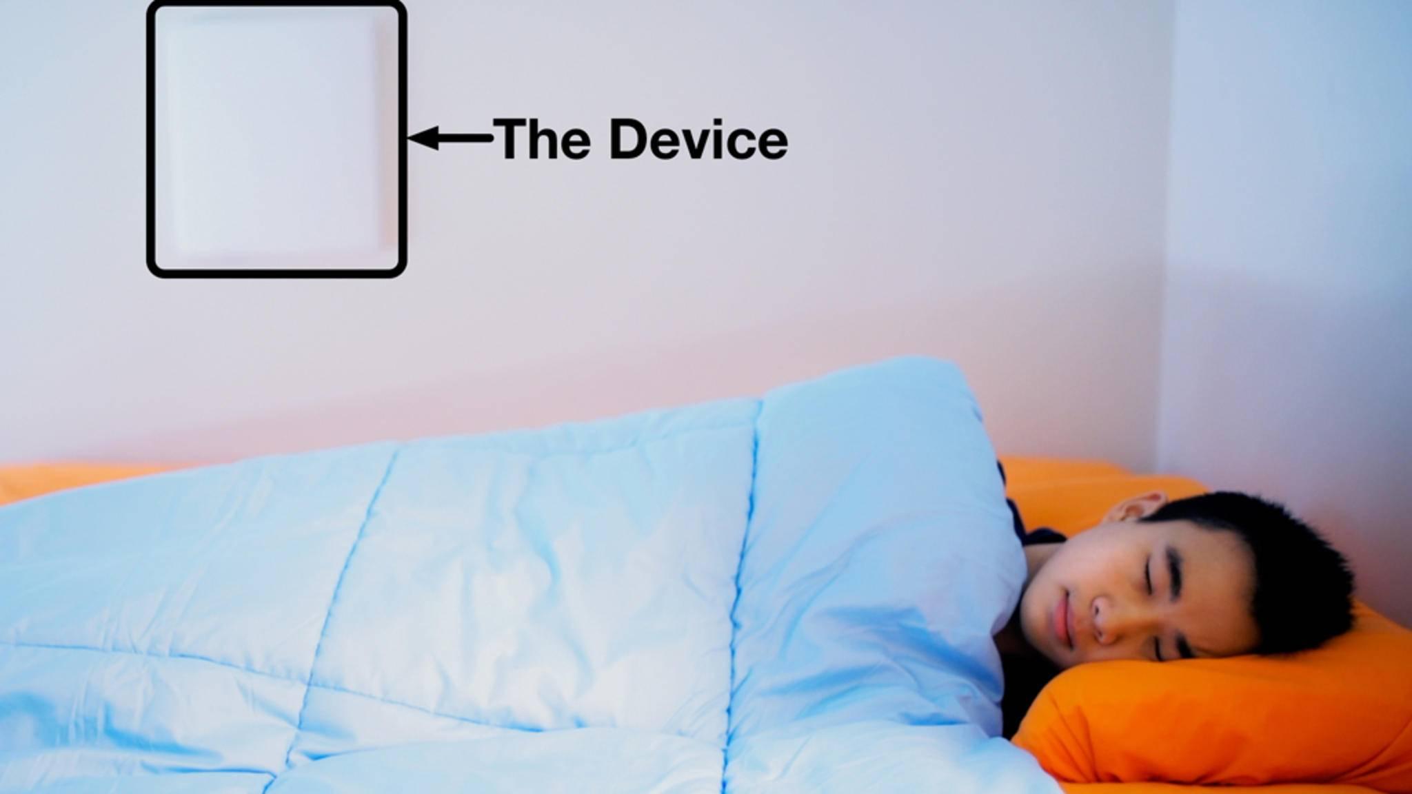 Der neue Schlaftracker des MIT ist äußerst unauffällig, aber ein echter Alleskönner.