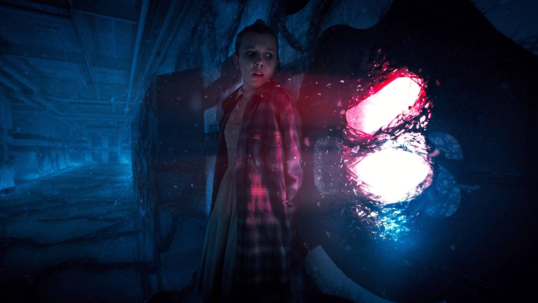 """Licht am Ende des Tunnels? Was Eleven und Co. in Staffel 3 und 4 von """"Stranger Things"""" erwartet, ist bisher noch ein großes Geheimnis."""