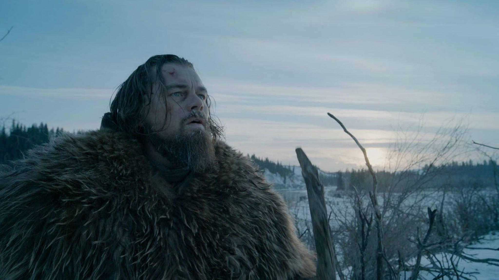 """Die Performance von Leonardo DiCaprio in """"The Revenant"""" brachte ihm endlich seinen ersten Oscar ein."""