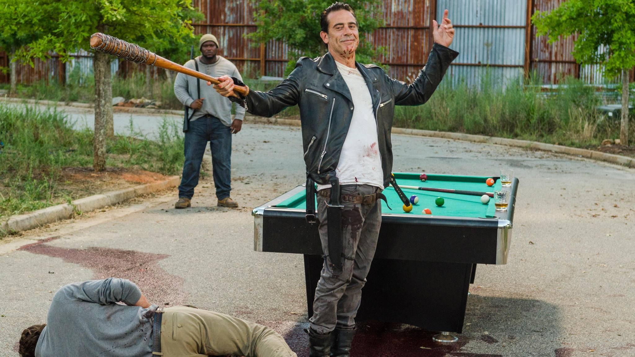 """Eine (psychopathisch-)charismatische Ausstrahlung kann man dem """"The Walking Dead""""-Bösewicht wirklich nicht absprechen."""
