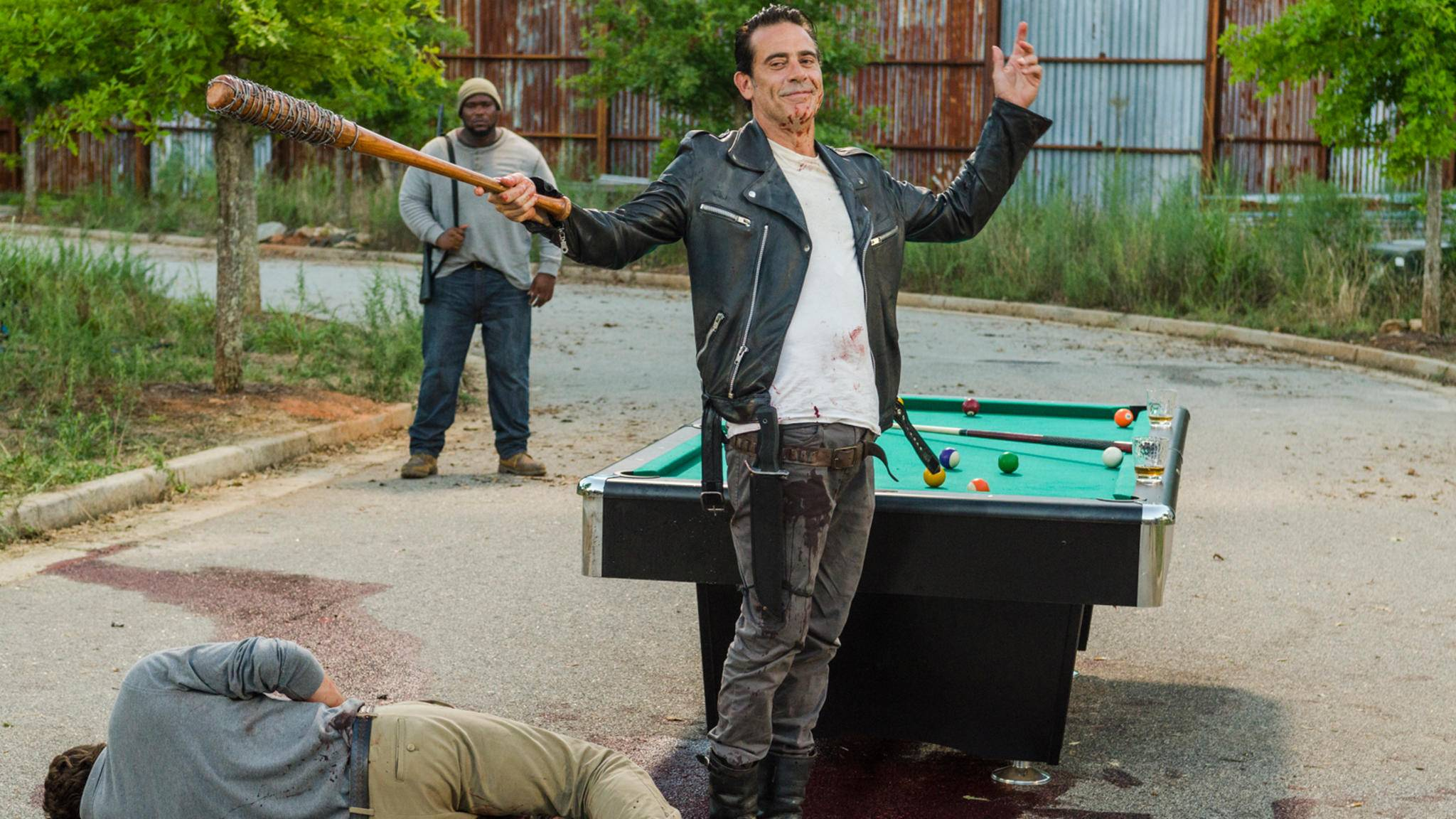 """In Staffel 8 könnten Fans von """"The Walking Dead"""" endlich ein paar von Negans deftigeren Sprüchen zu hören bekommen."""