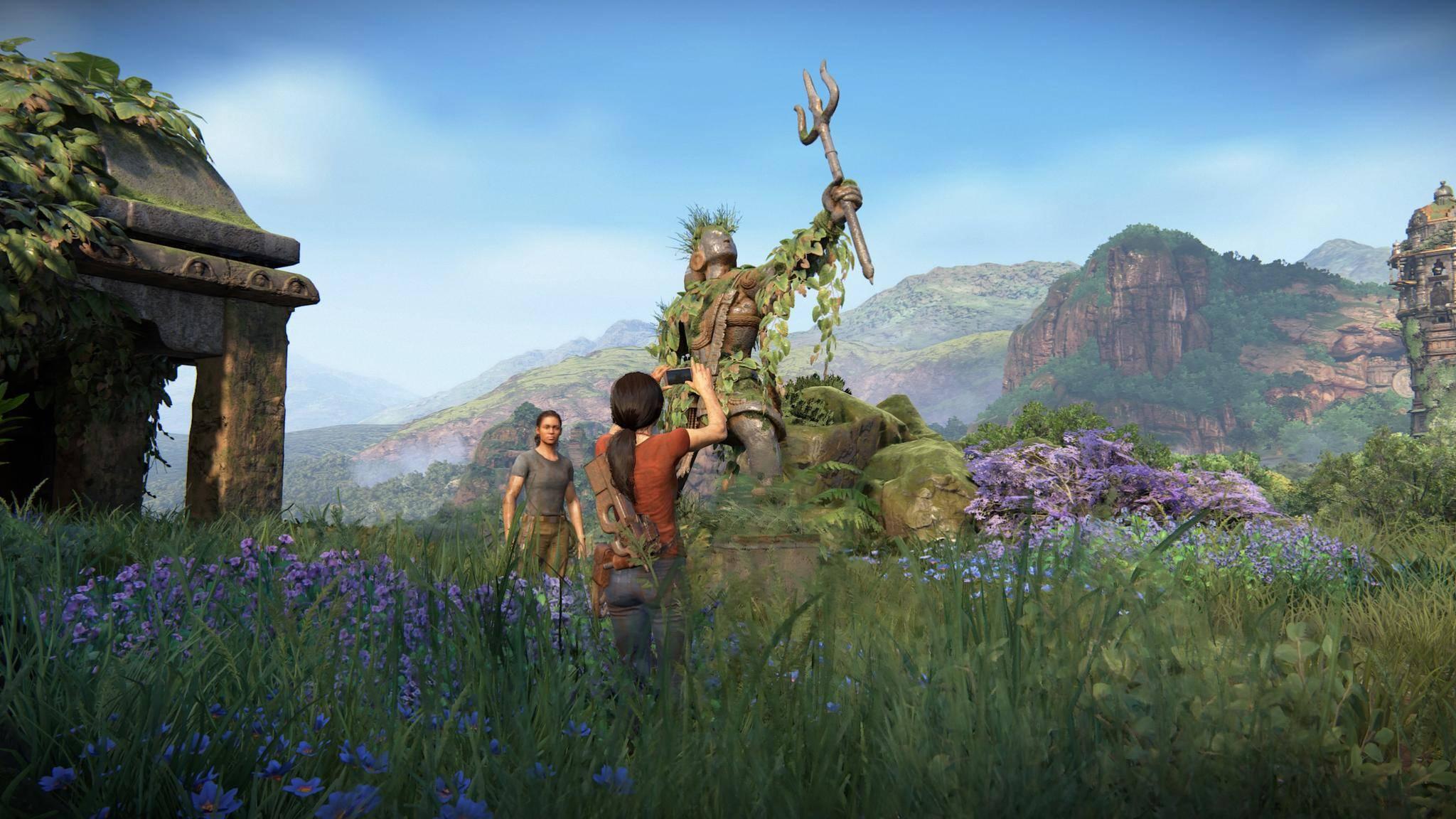 """""""Uncharted: The Lost Legacy"""" läuft eigentlich in QHD, aber mit der PS4 Pro können nur 4K-Displays die höhere Auflösung nutzen."""