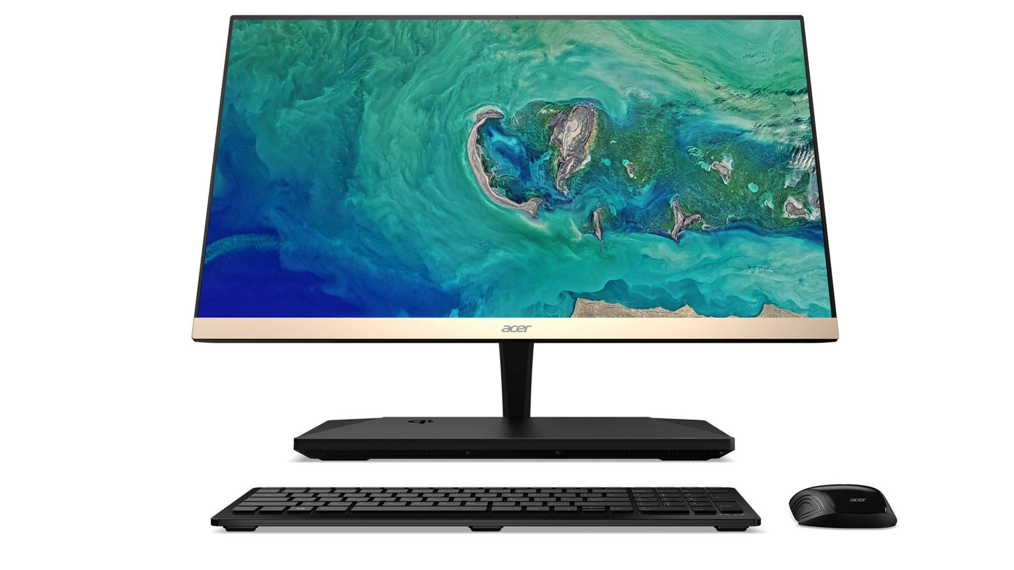 Der stylische All-in-One-PC soll 2018 auf den Markt kommen.