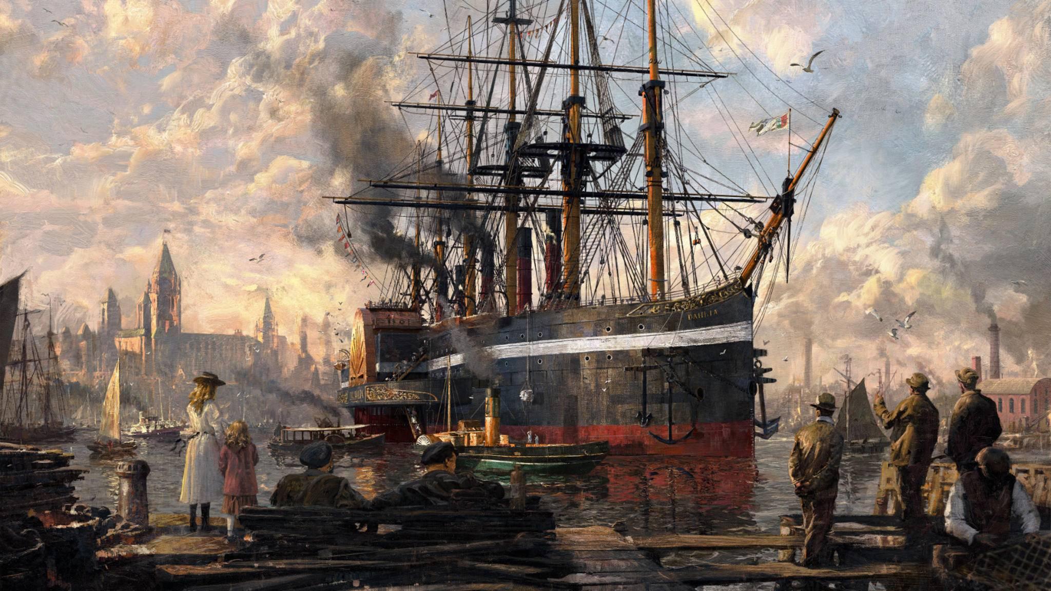 """Aufbruch in eine neue Ära: In """"Anno 1800"""" dient die industrielle Revolution als historischer Hintergrund."""