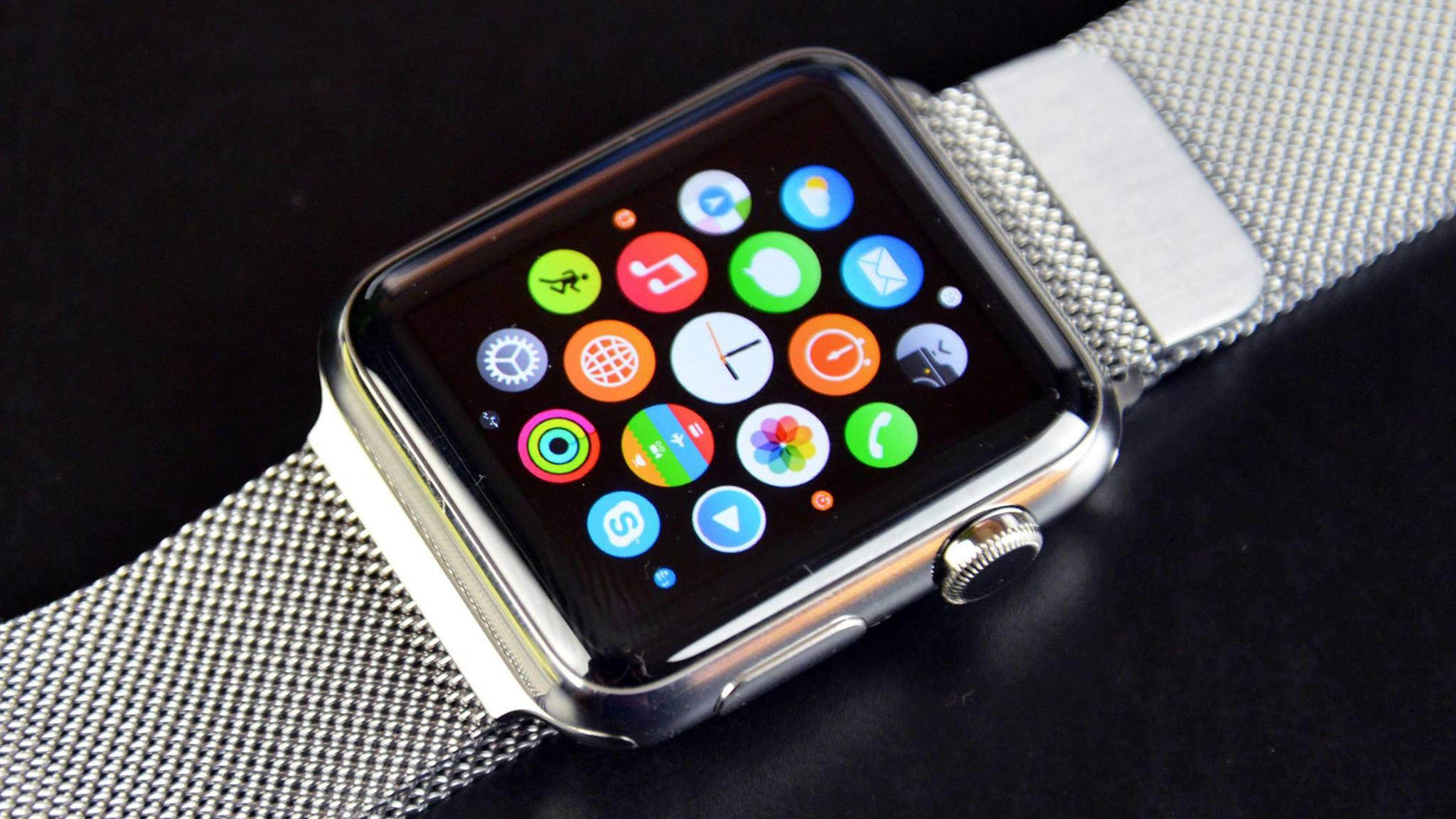 Die Apple Watch Series 3 könnte einen LTE-Chip erhalten – und damit unabhängiger werden.