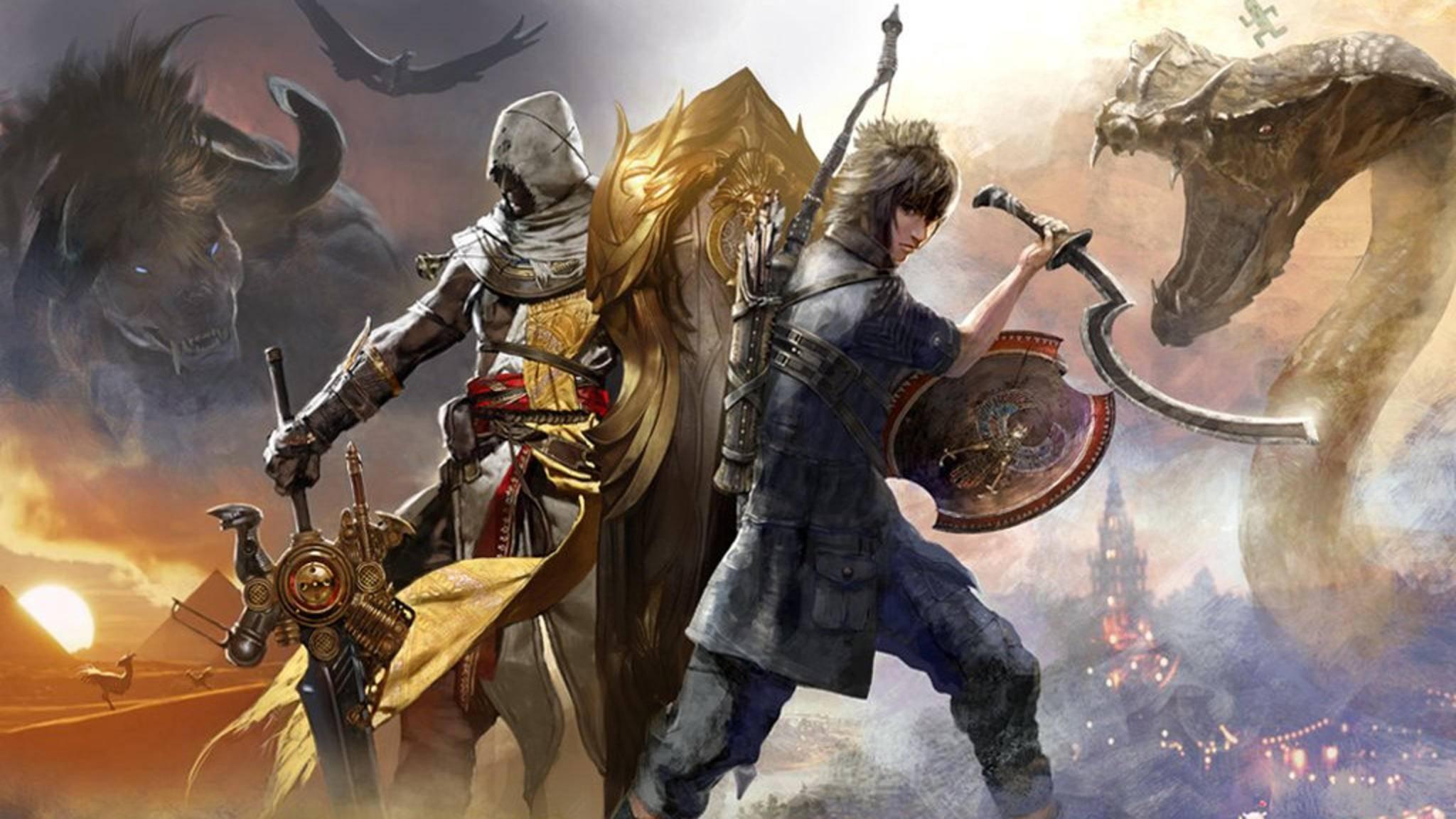 """""""Assassin's Creed"""" und """"Final Fantasy"""" machen mal wieder gemeinsame Sache."""