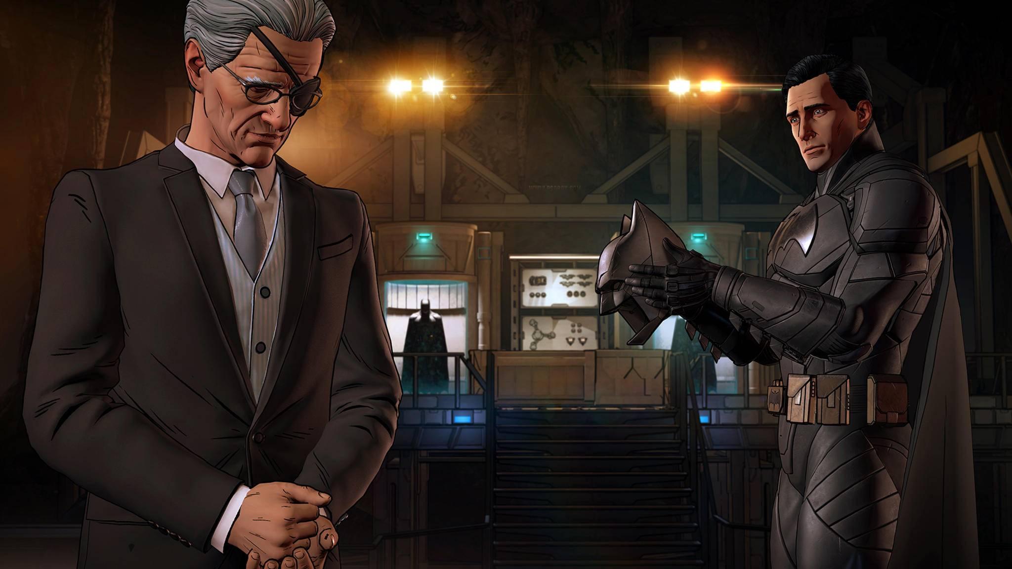 """Die Beziehungen zu den eigenen Verbündeten wie Alfred spielen in """"Batman: Enemy Within"""" eine wichtige Rolle."""