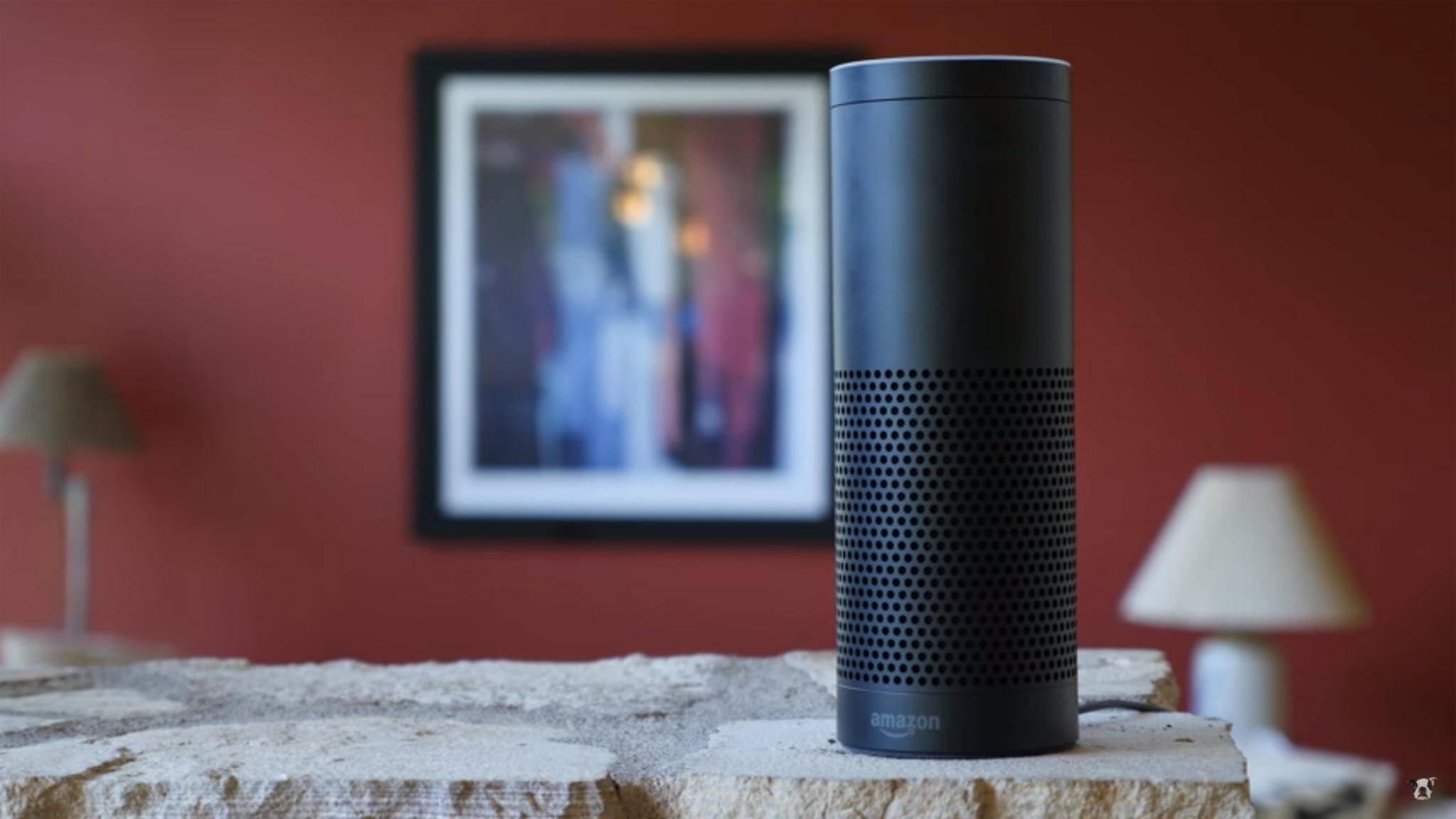 Soll künftig vermehrt Signaltöne als Feedback auf Befehle ausgeben: Der Smart Speaker Amazon Echo.