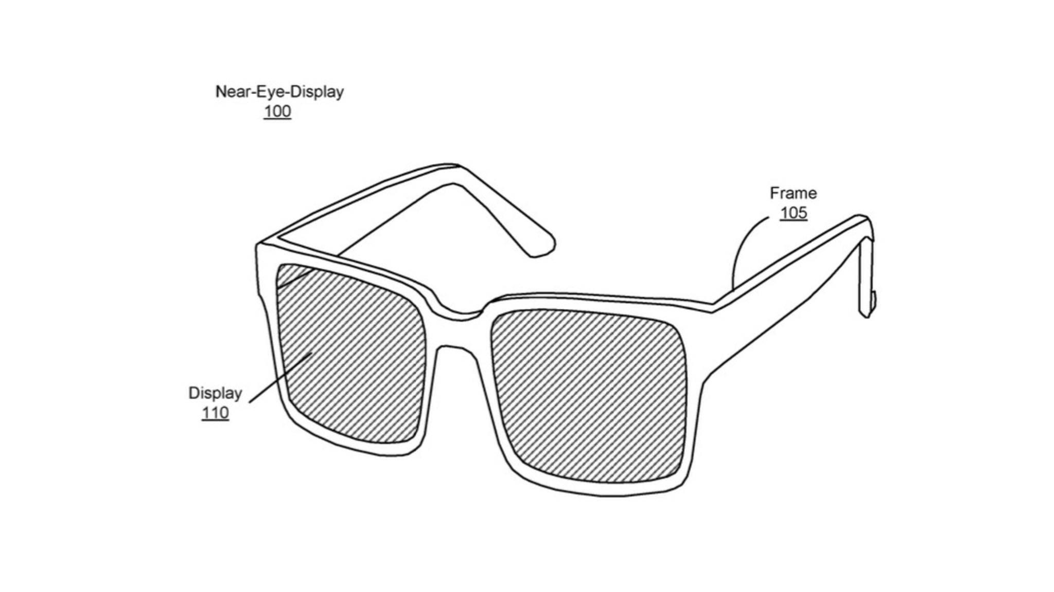 Das geplante AR-Headset von Facebook ähnelt einer Sonnenbrille.