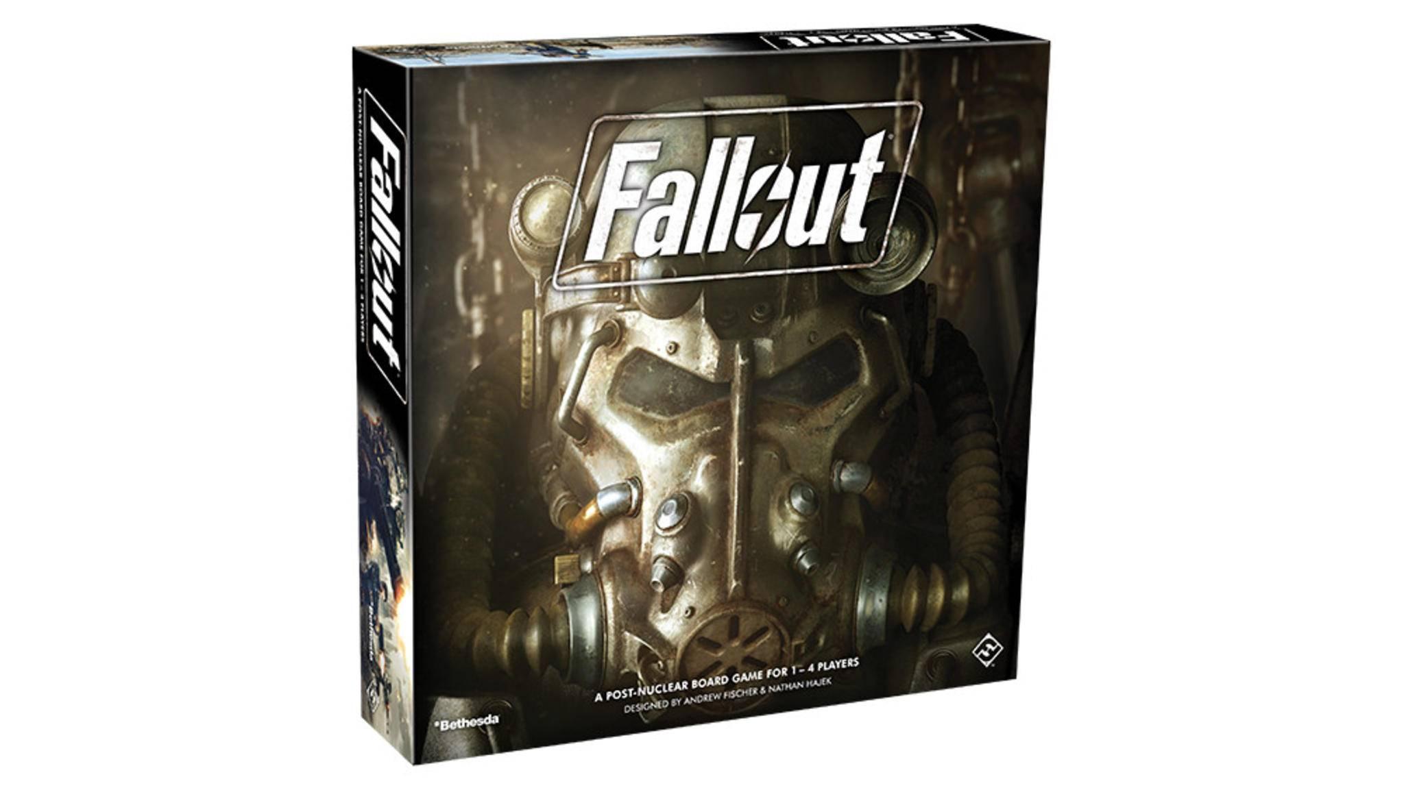 """Das """"Fallout""""-Brettspiel erscheint noch dieses Jahr."""