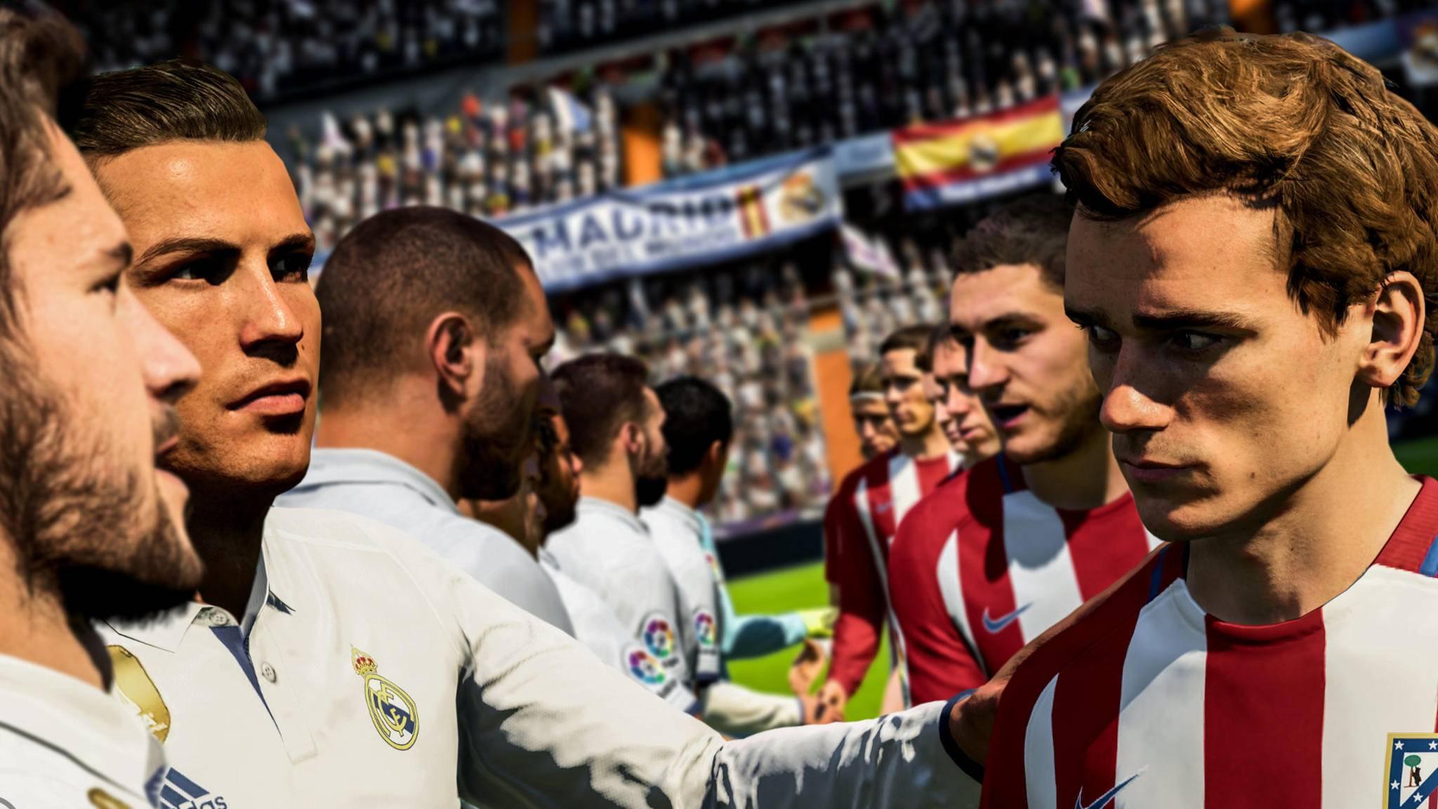 """Unterschiedliche Teams haben in"""" FIFA 18"""" unterschiedliche Taktiken."""