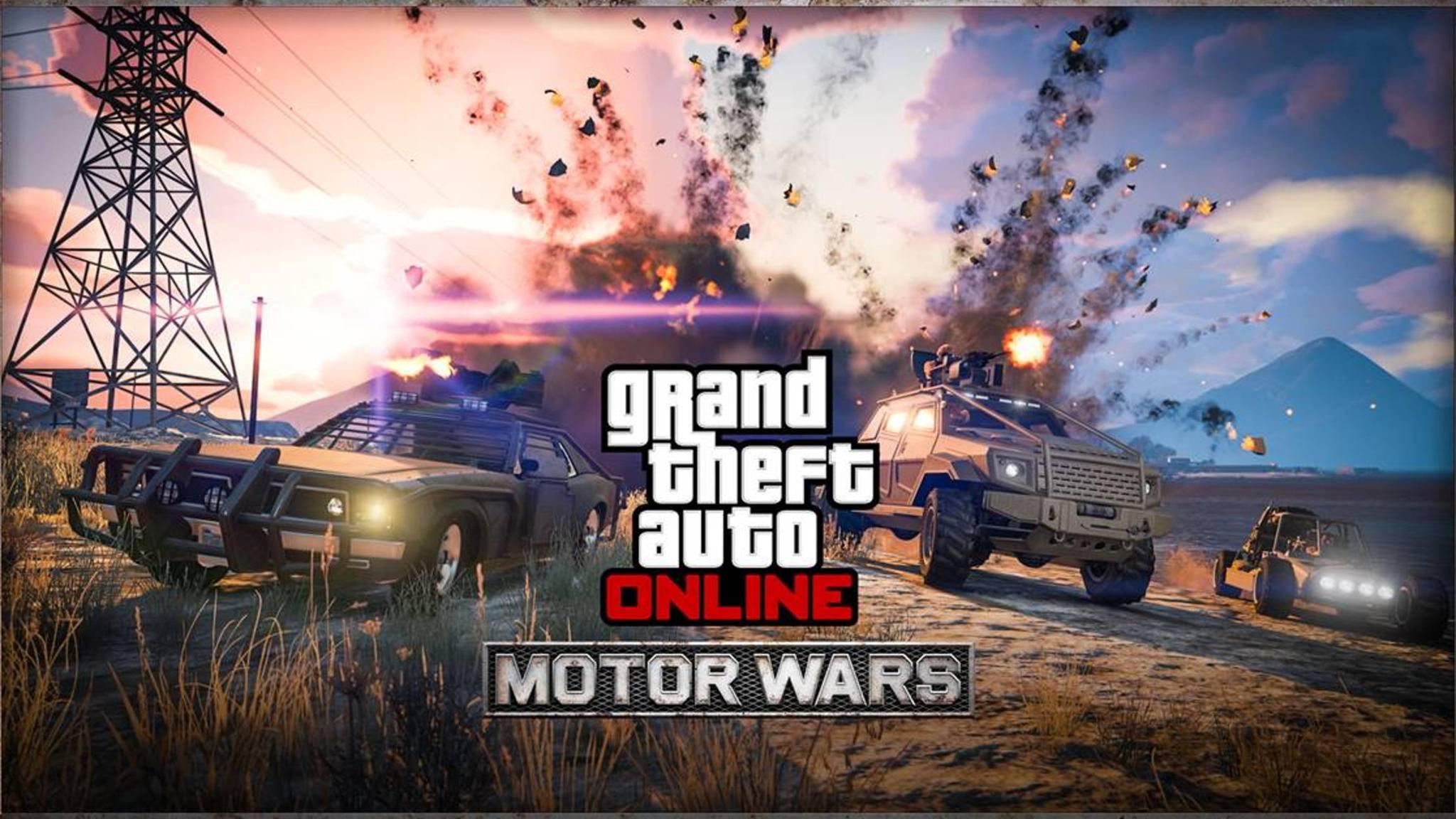 """""""GTA Online"""": Wir erklären den neuen """"PUBG""""-Modus """"Motor Wars"""" aus dem """"Smuggler's Run""""-Update."""