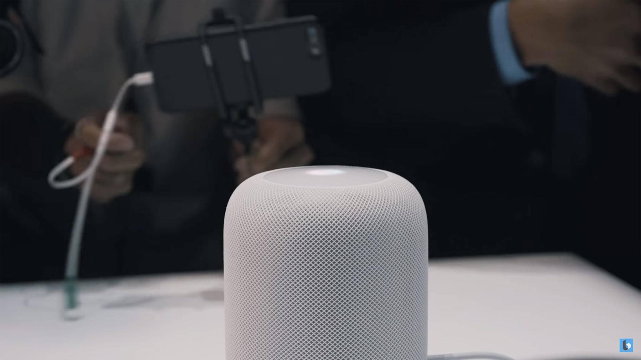 Für Deutschland steht noch kein Release-Termin fest: der Apple HomePod.