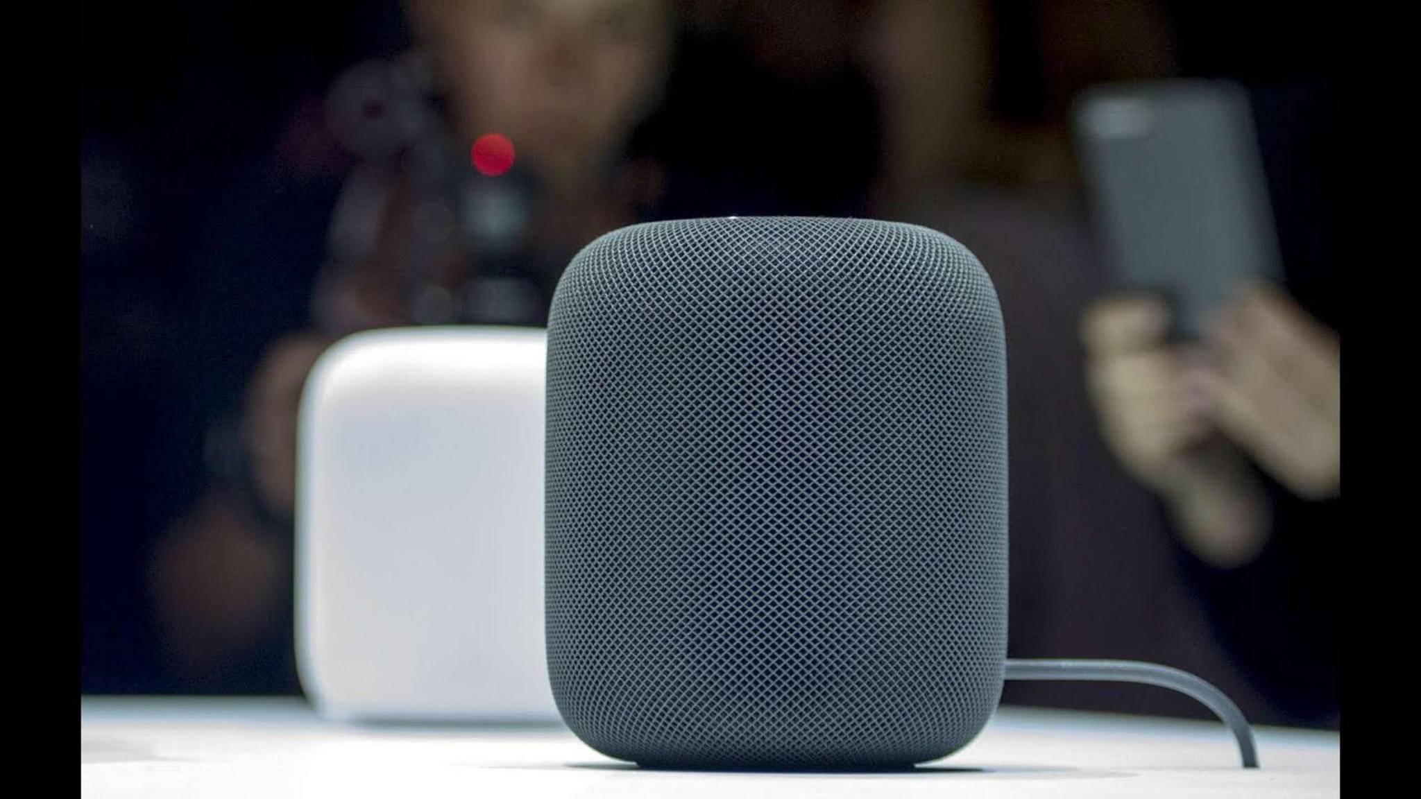 Kommt nicht vor Weihnachten, sondern erst später: der Apple HomePod.
