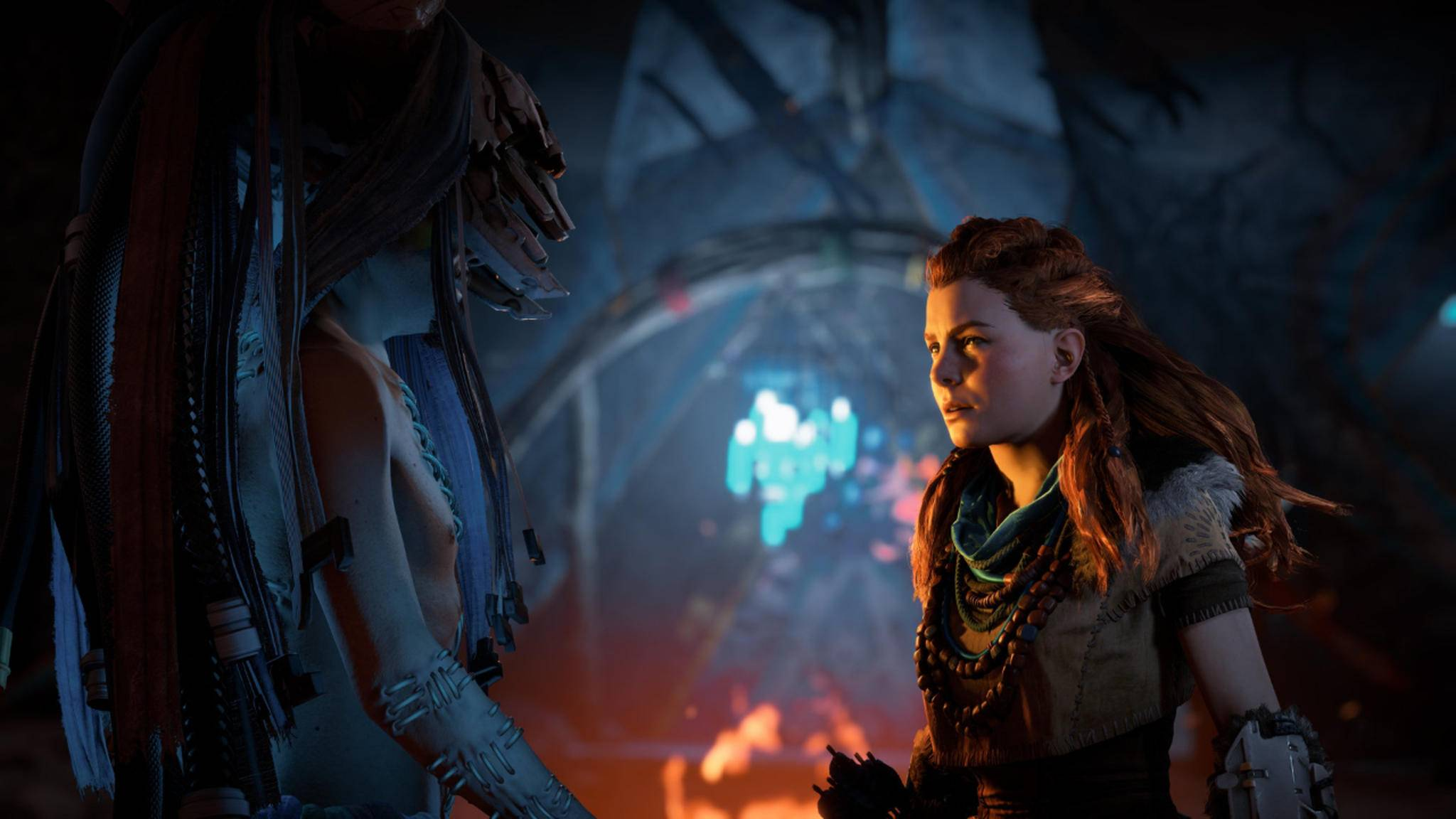 "In ""The Frozen Wilds"" reist Aloy in den eisigen Norden."