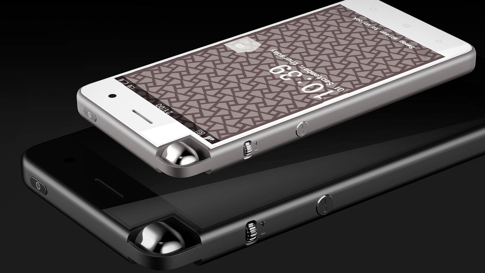 Das verrückte iPhone-Konzept von Evan Huang.