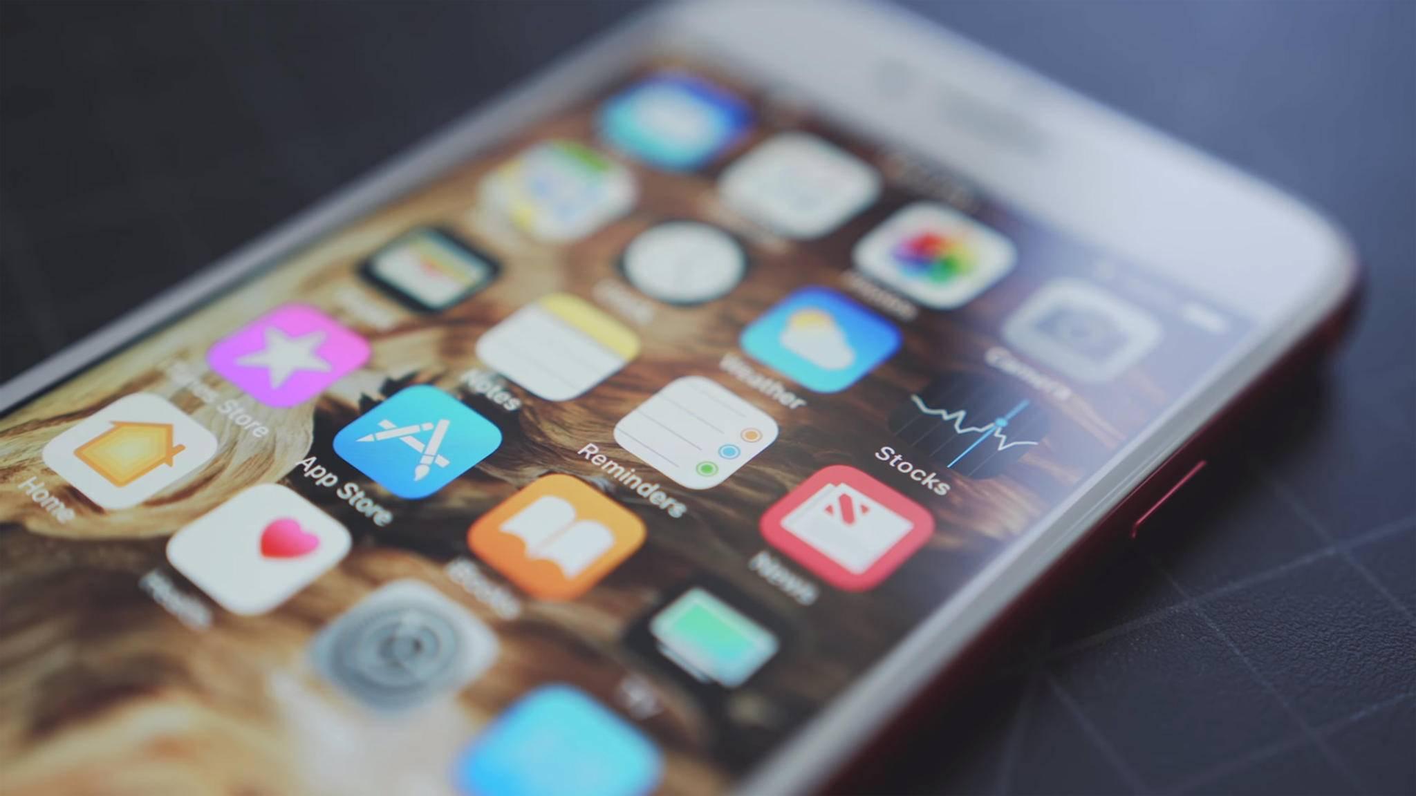 Mit iOS 11 erkennst Du schnell wenig genutzte Apps.