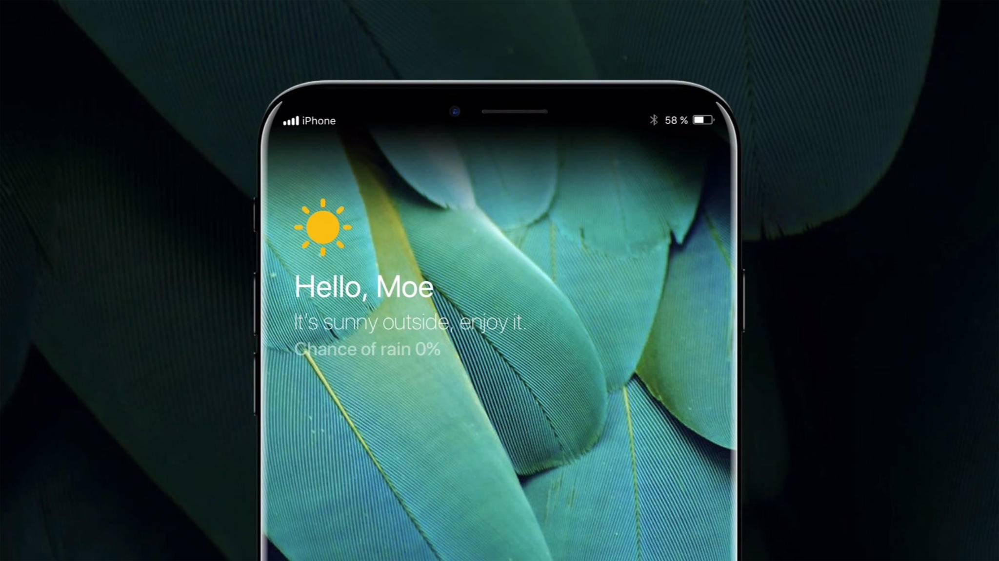 Wird das iPhone 8 so aussehen? Am 12. September werden wir es wissen.
