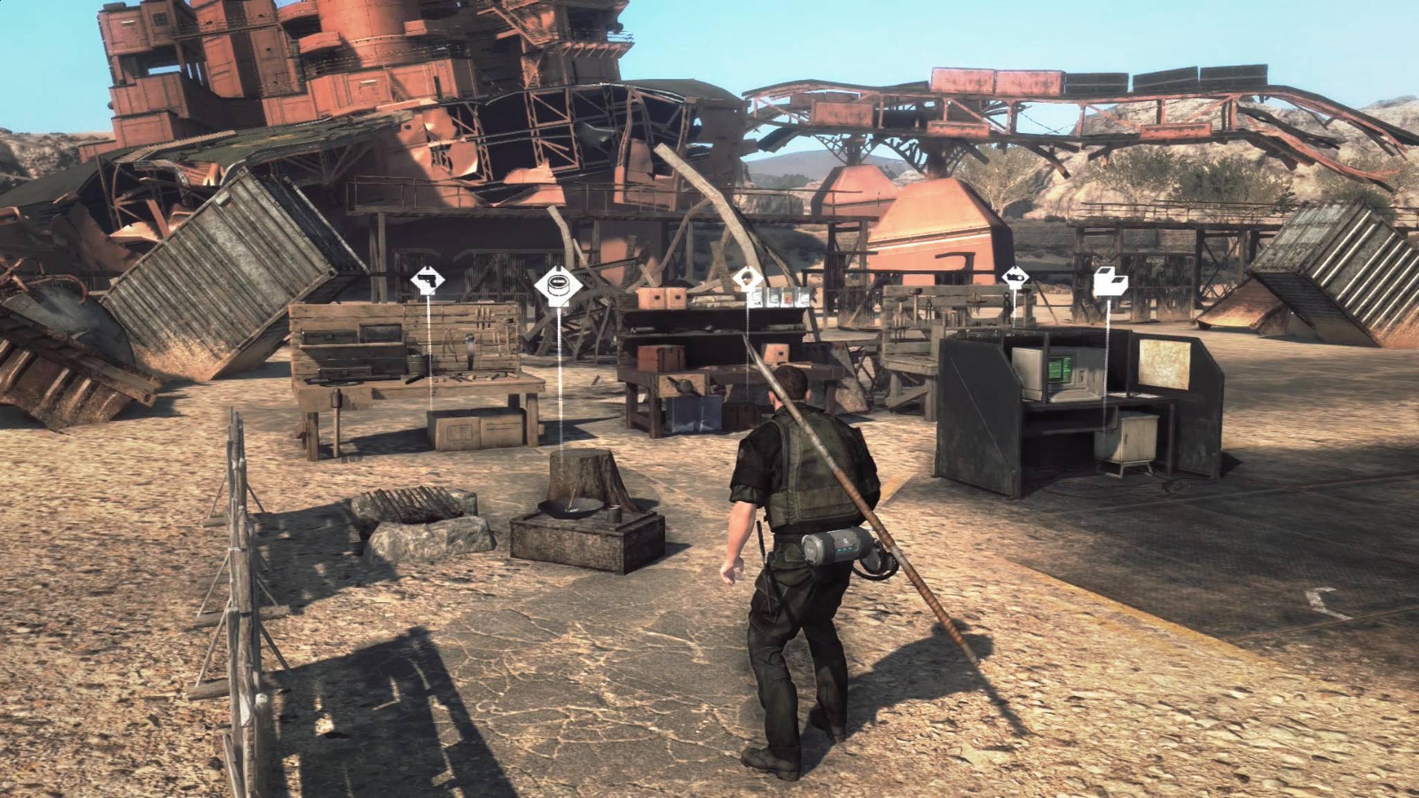 """Wichtig in """"Metal Gear Survive"""": kurze Wege."""