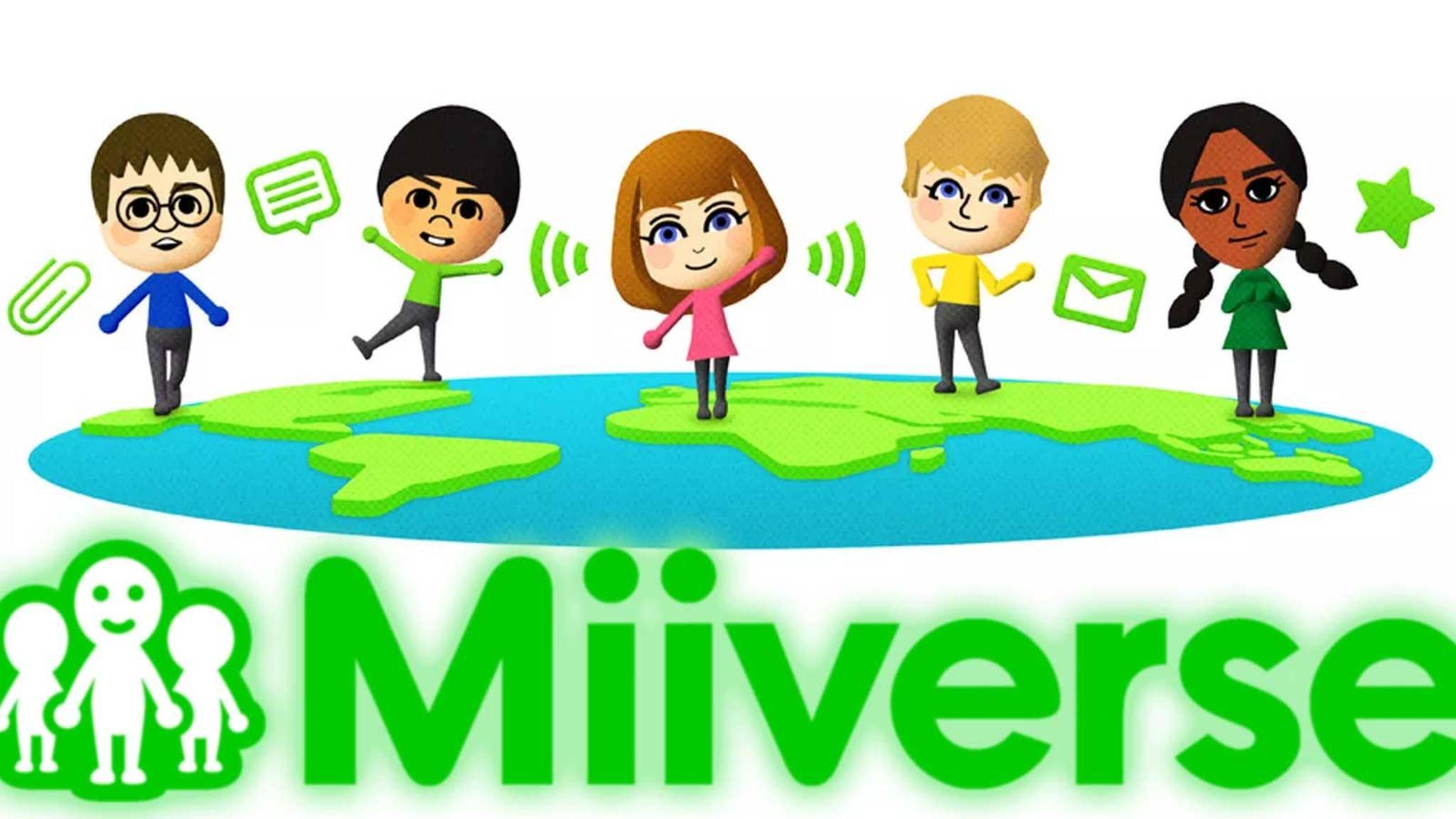 Nintendo stoppt den sozialen Dienst Miiverse.