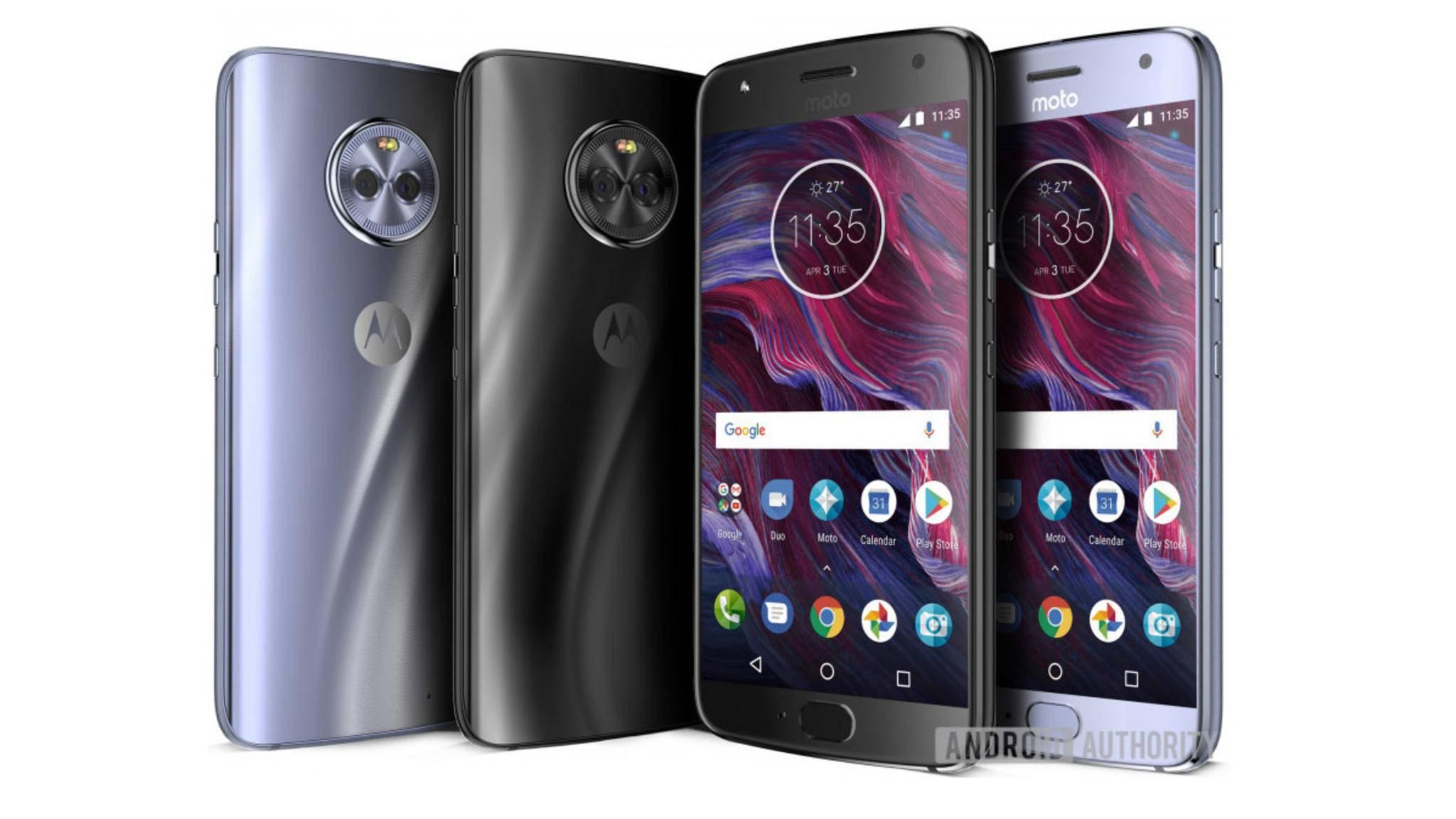 So soll das Moto X4 aussehen: Am 2. September dürfte der Produkt-Launch des Smartphones auf den Philippinen erfolgen.